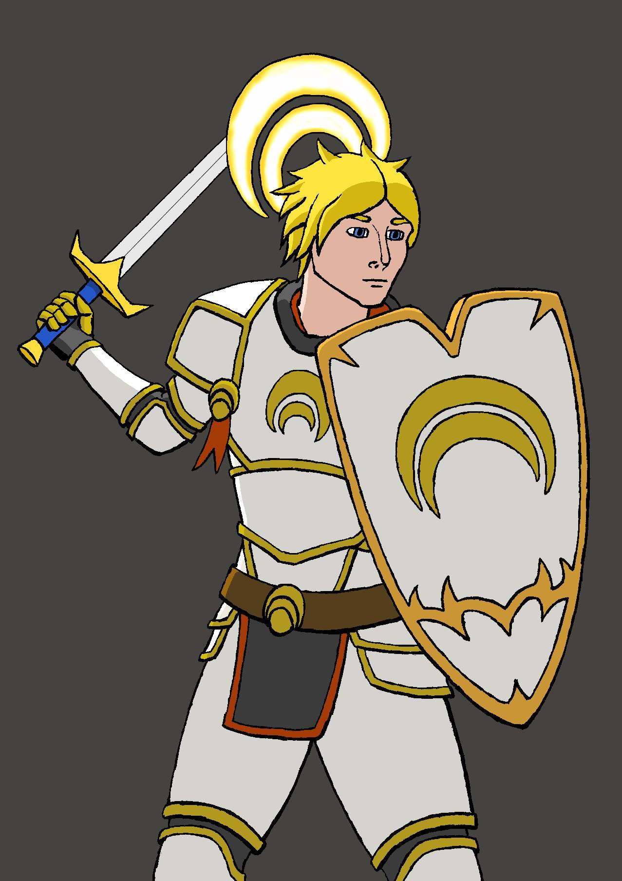 Jaune the white knight