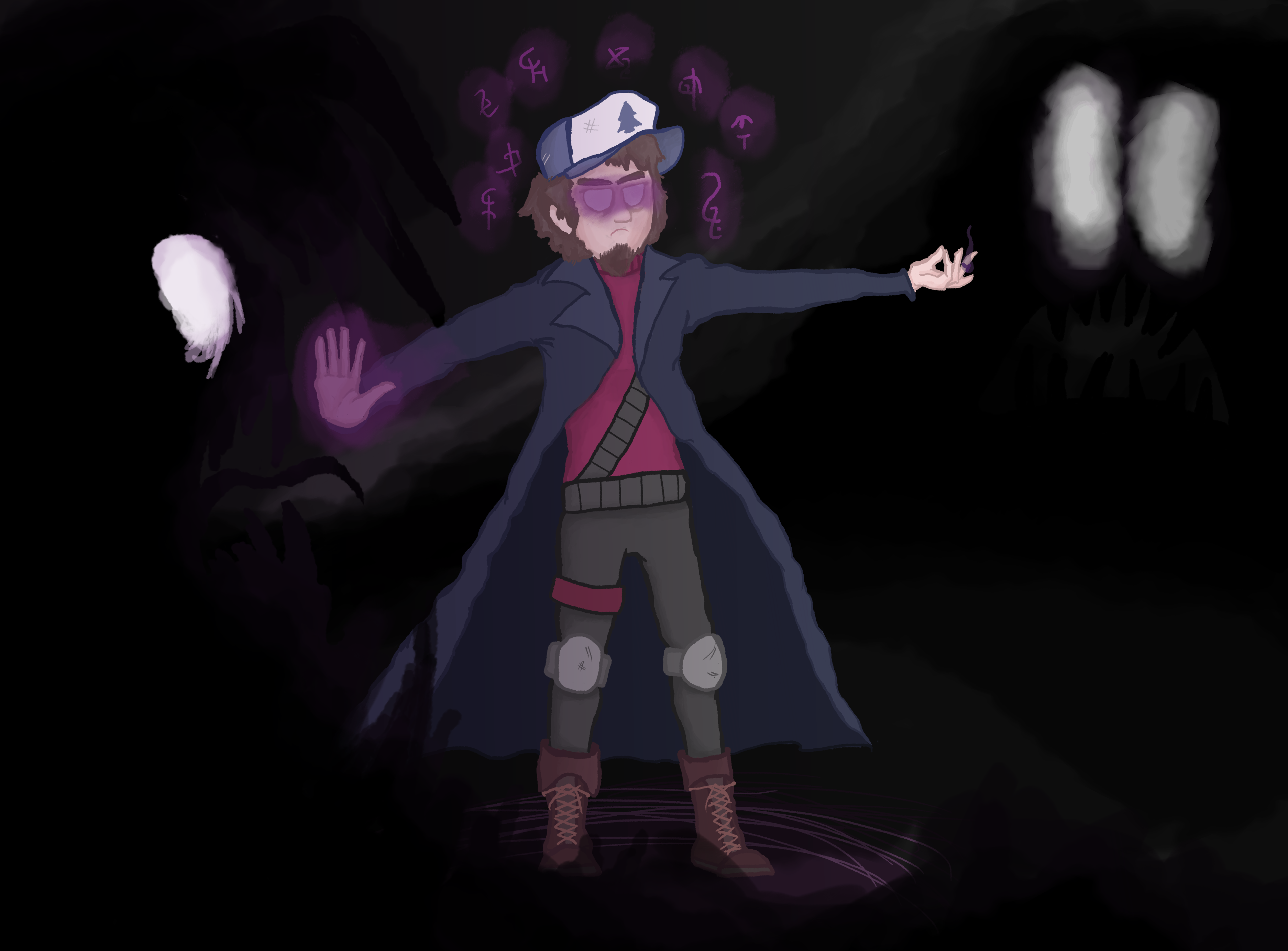 Dipper Pines the illuminated