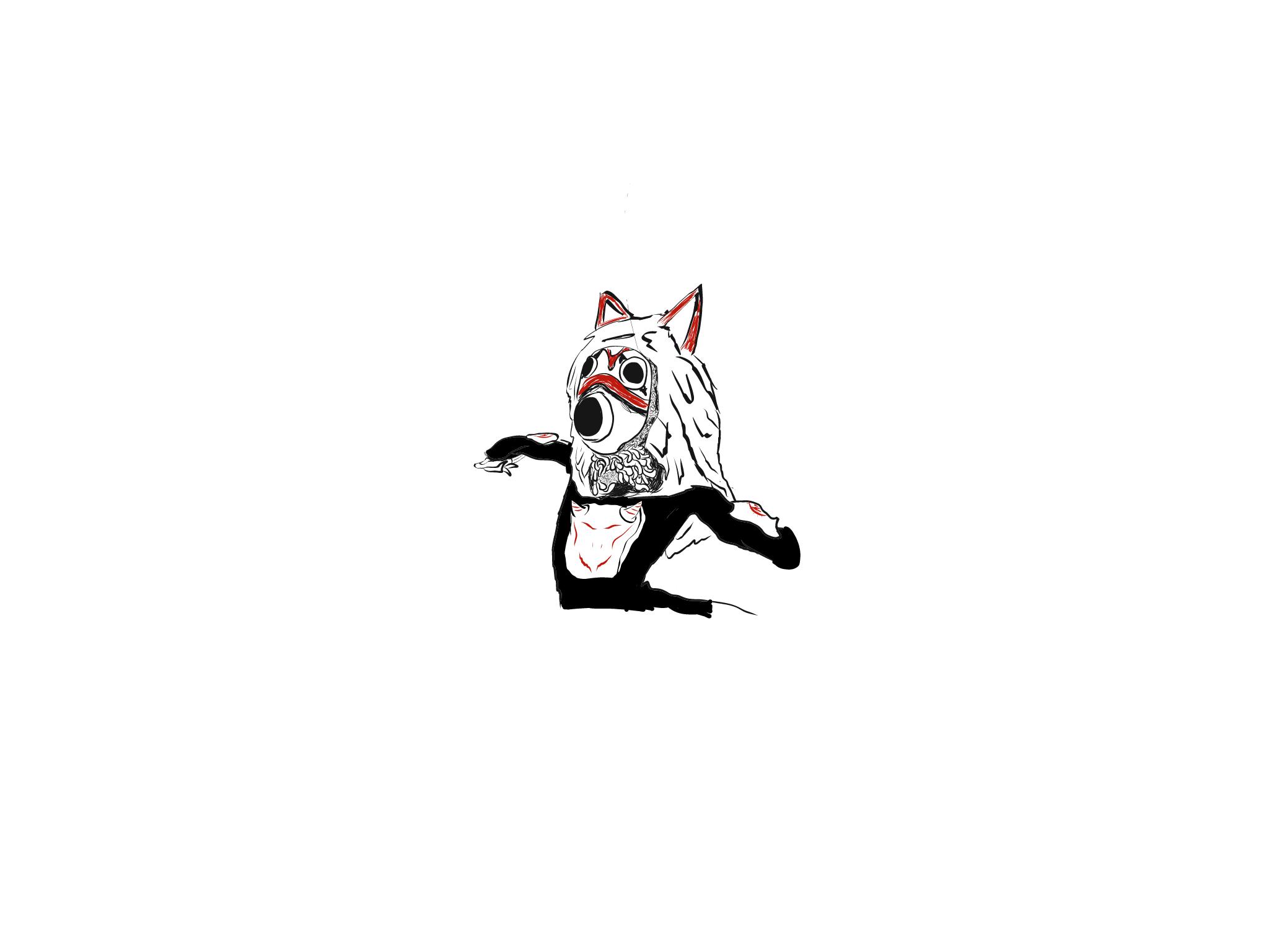 Old Mononoke/RWBY thing I drew