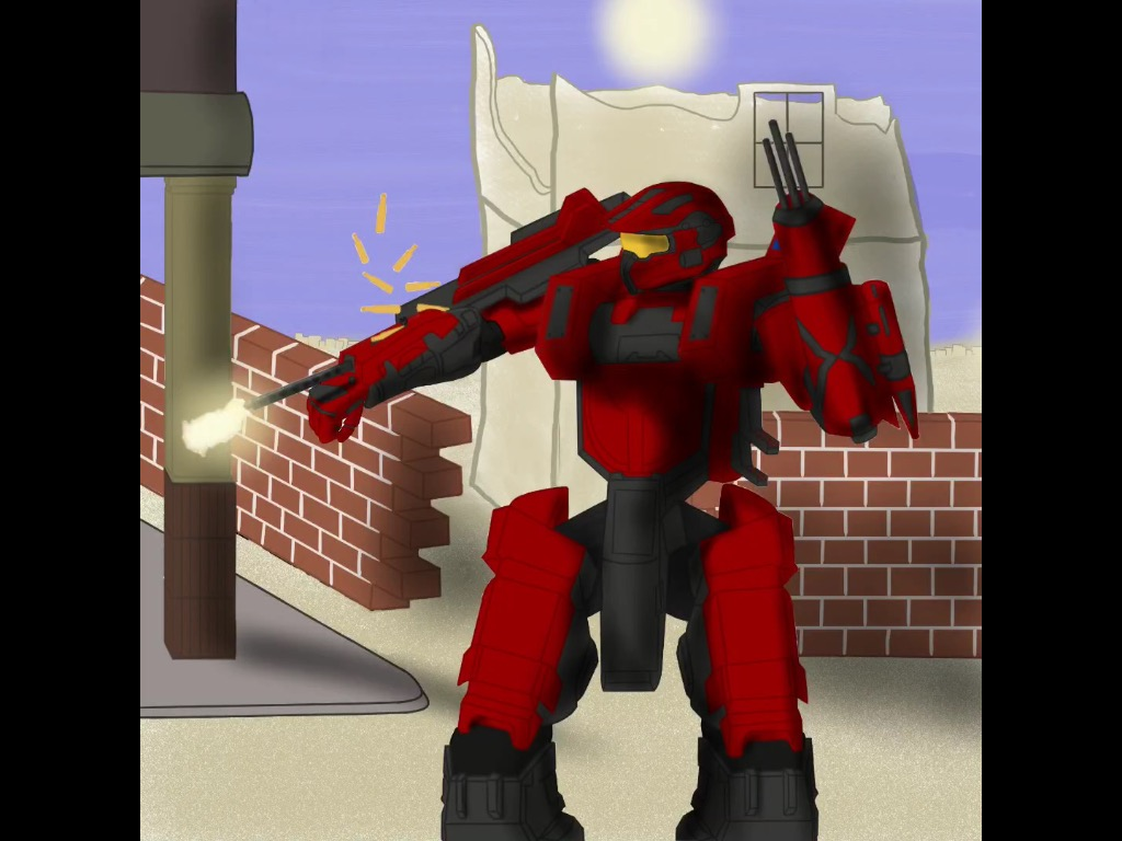 LVL99 red Master Chief