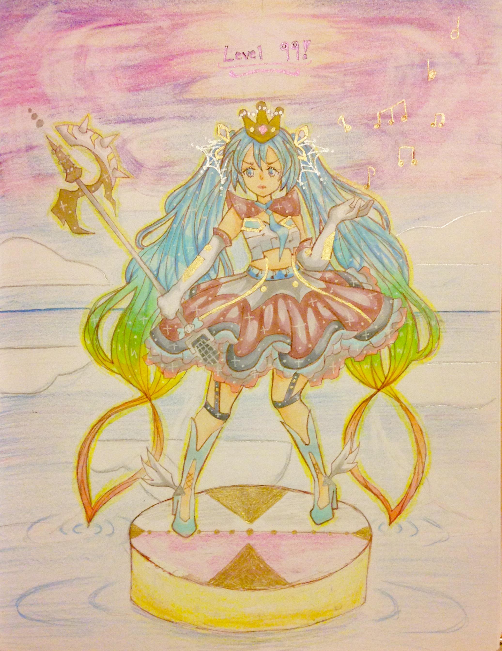 Lvl 99 Rainbow Miku!