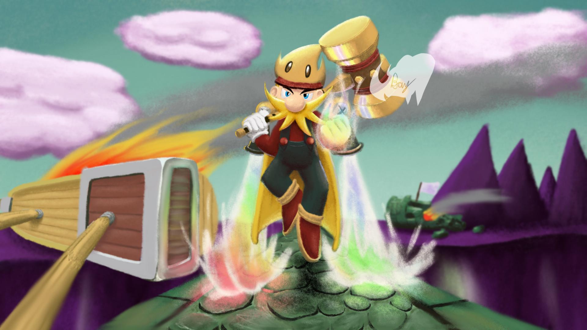 Max Level Mario