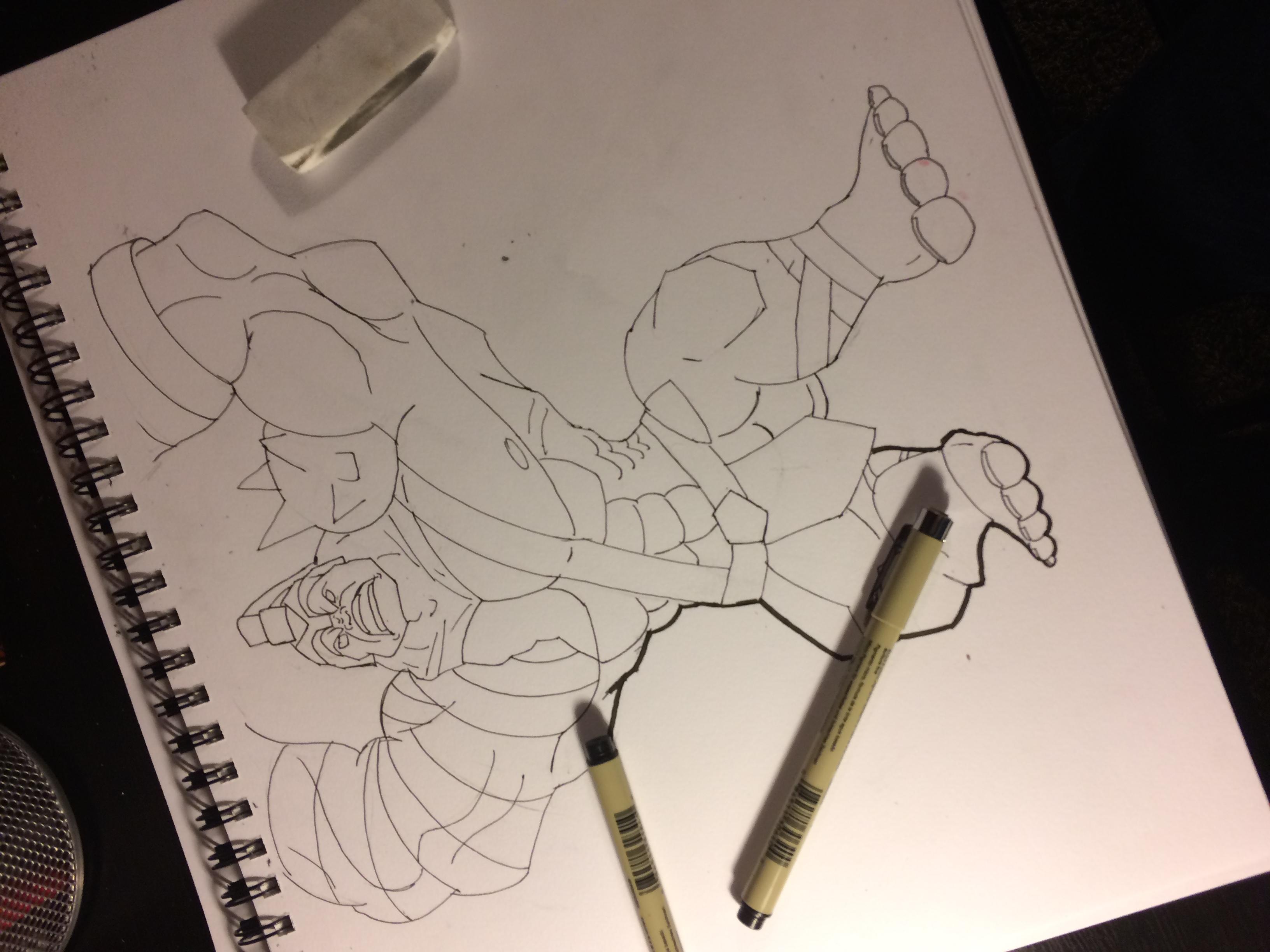 Hulk Ultimate Work in progress