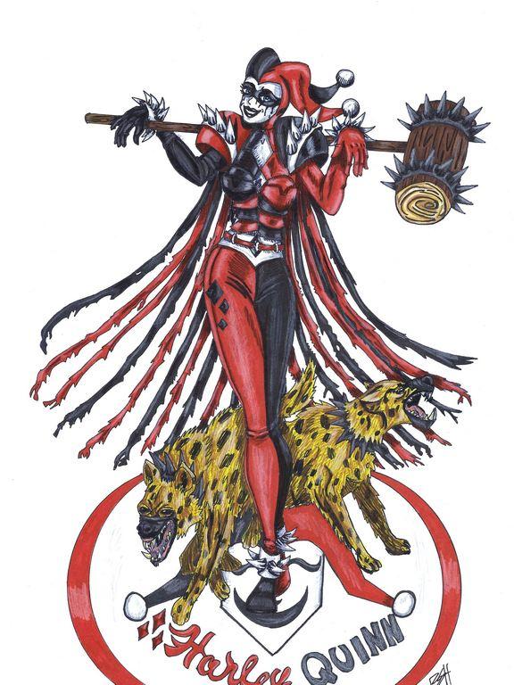level 99 Harley Quinn