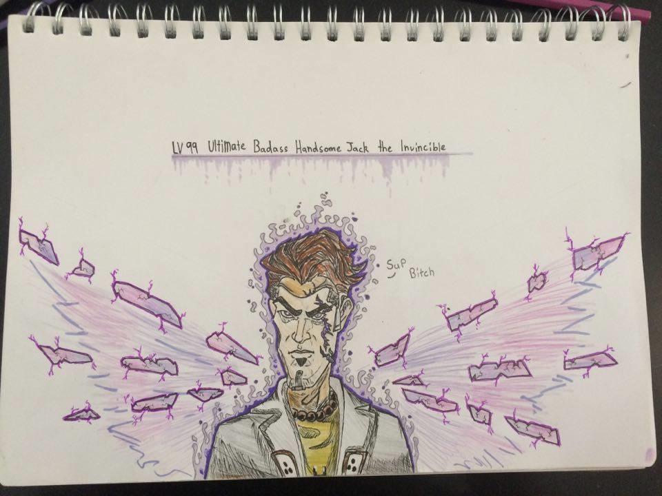 Lv99 Ultimate Badass Handsome Jack The Invincible