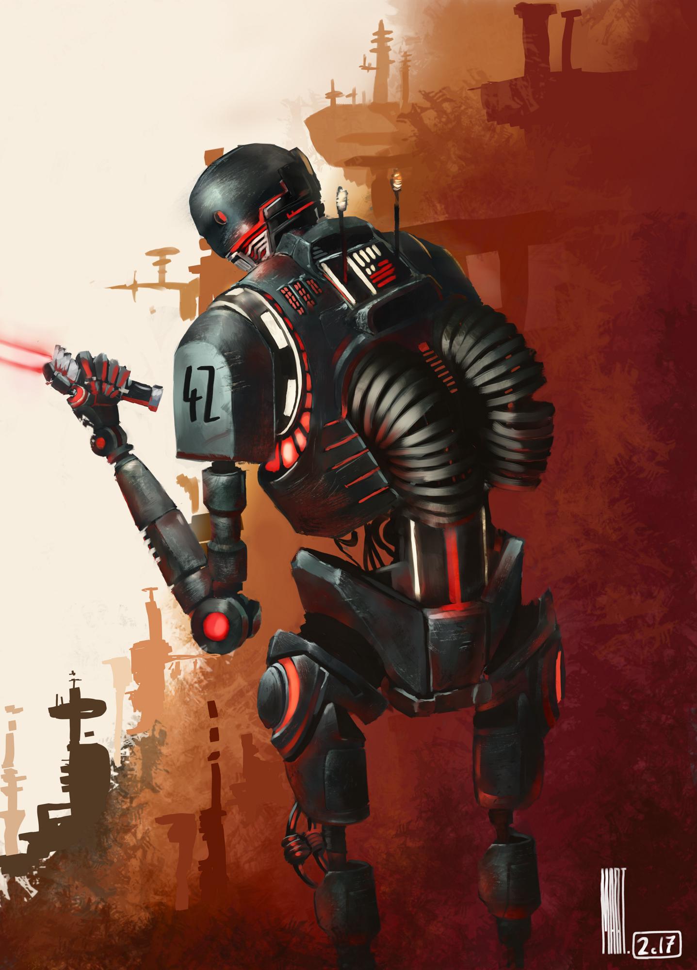 Dark Side K2SO | Rogue One | Level Cap COTM