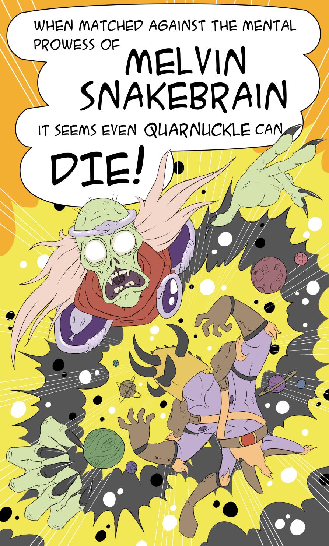 Quarnuckle: Wizard Woes