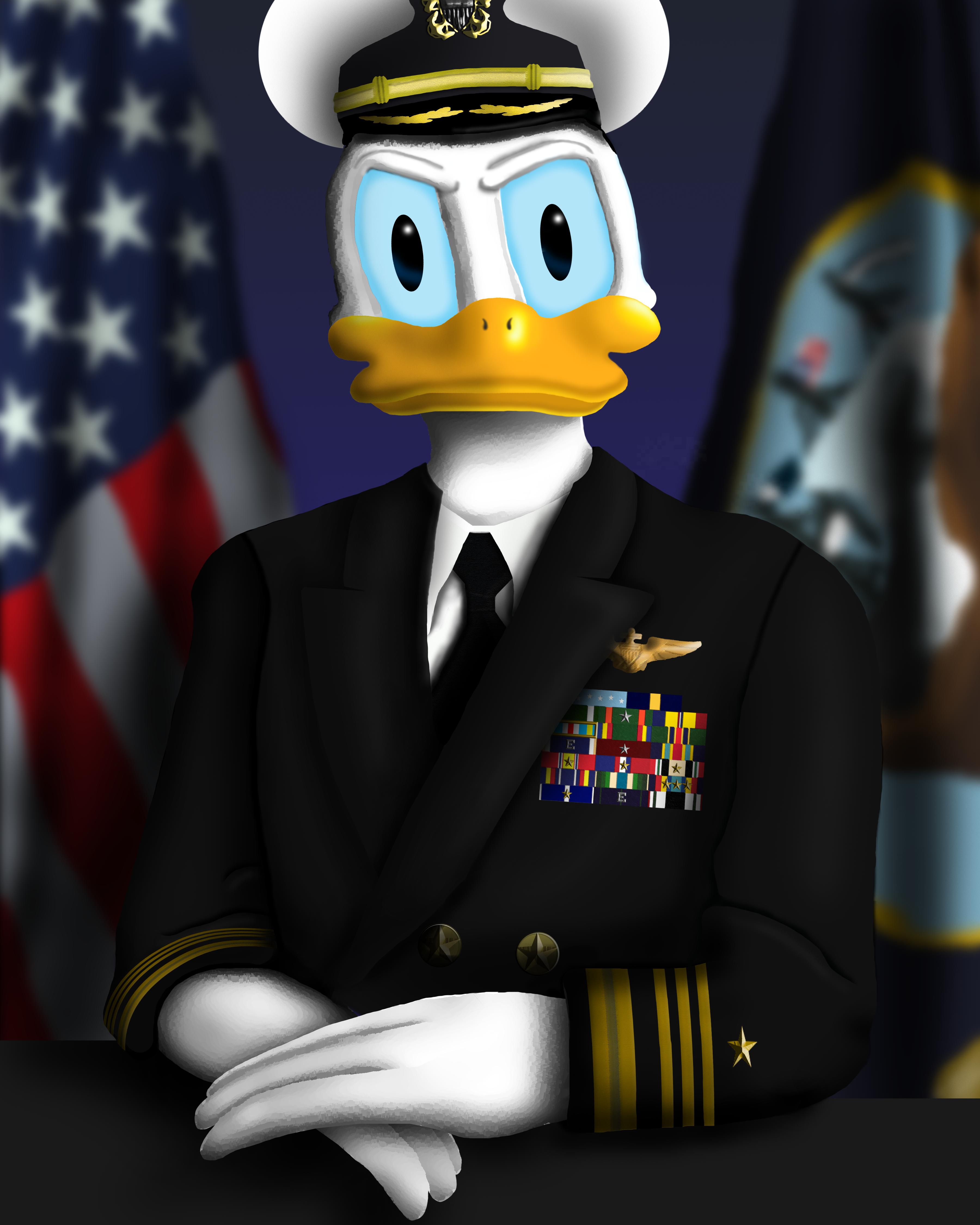 Admiral Donald Duck
