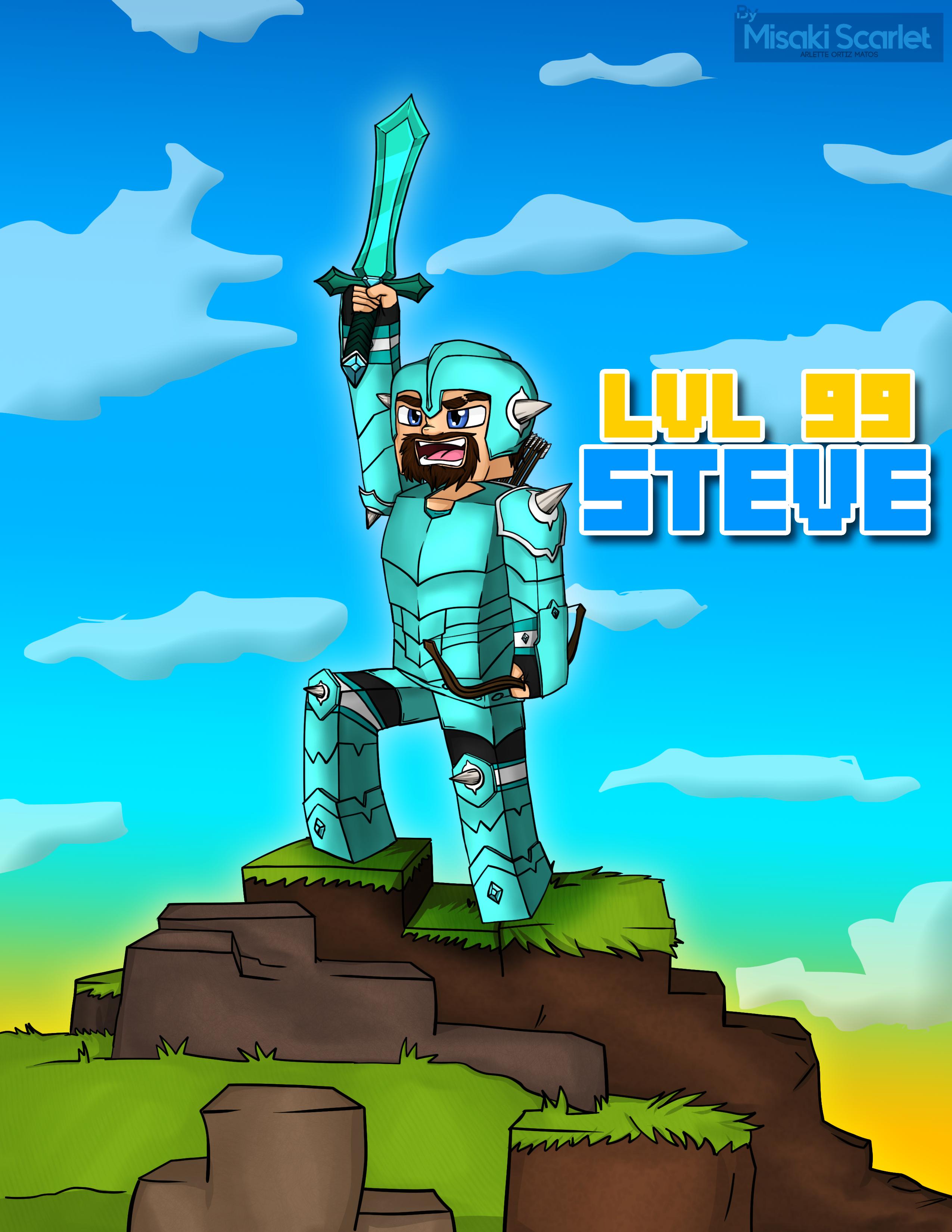 Minecraft Steve LVL.99 for Jazza's C.O.T.M