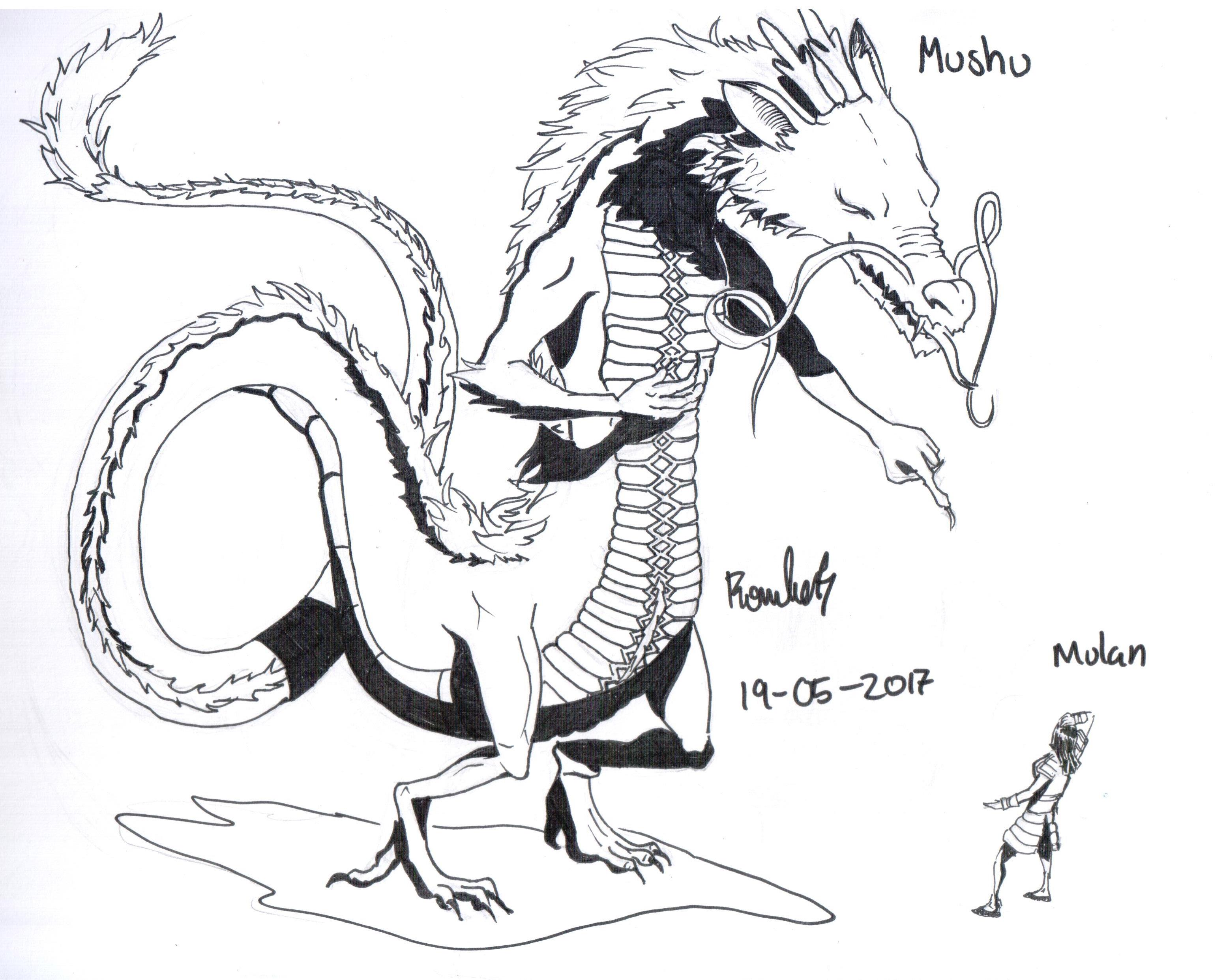 Mushu The Guardian Dragon