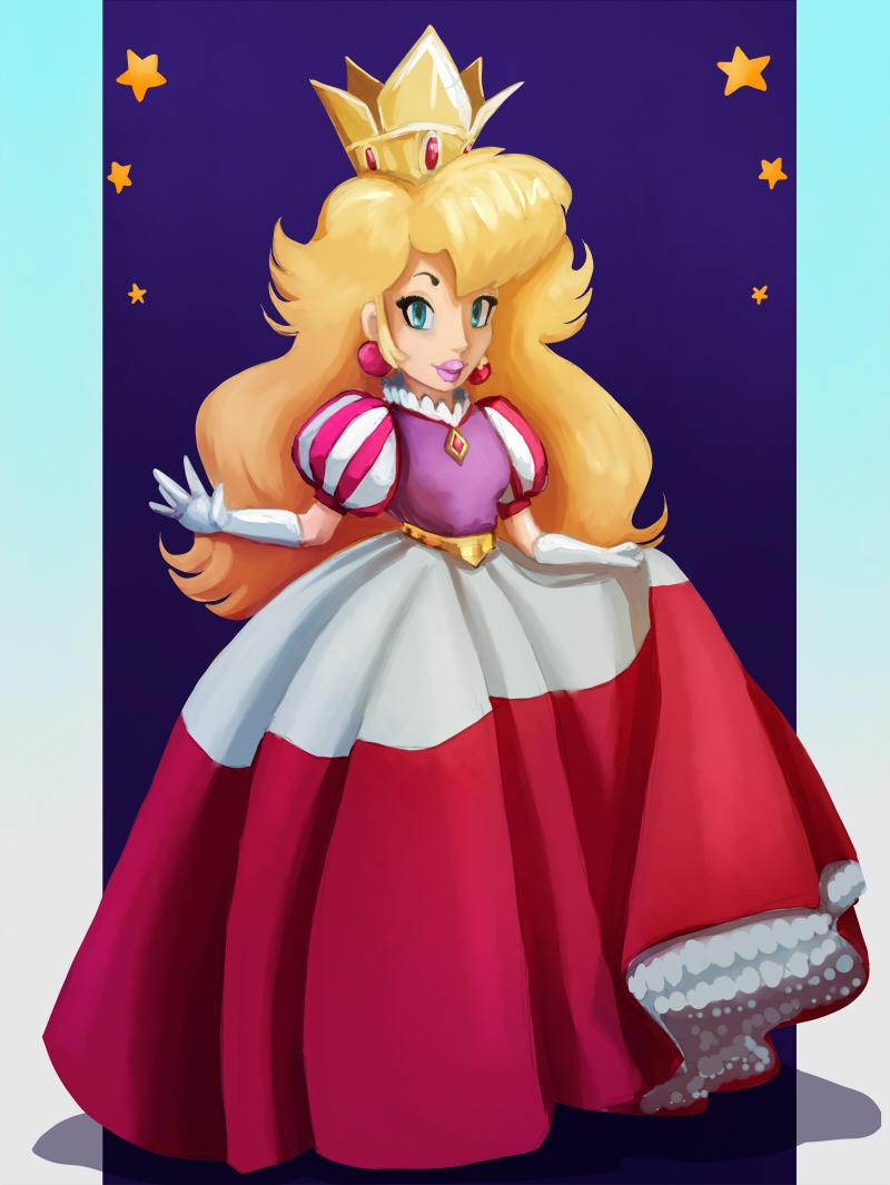 Royal dress Princess Peach