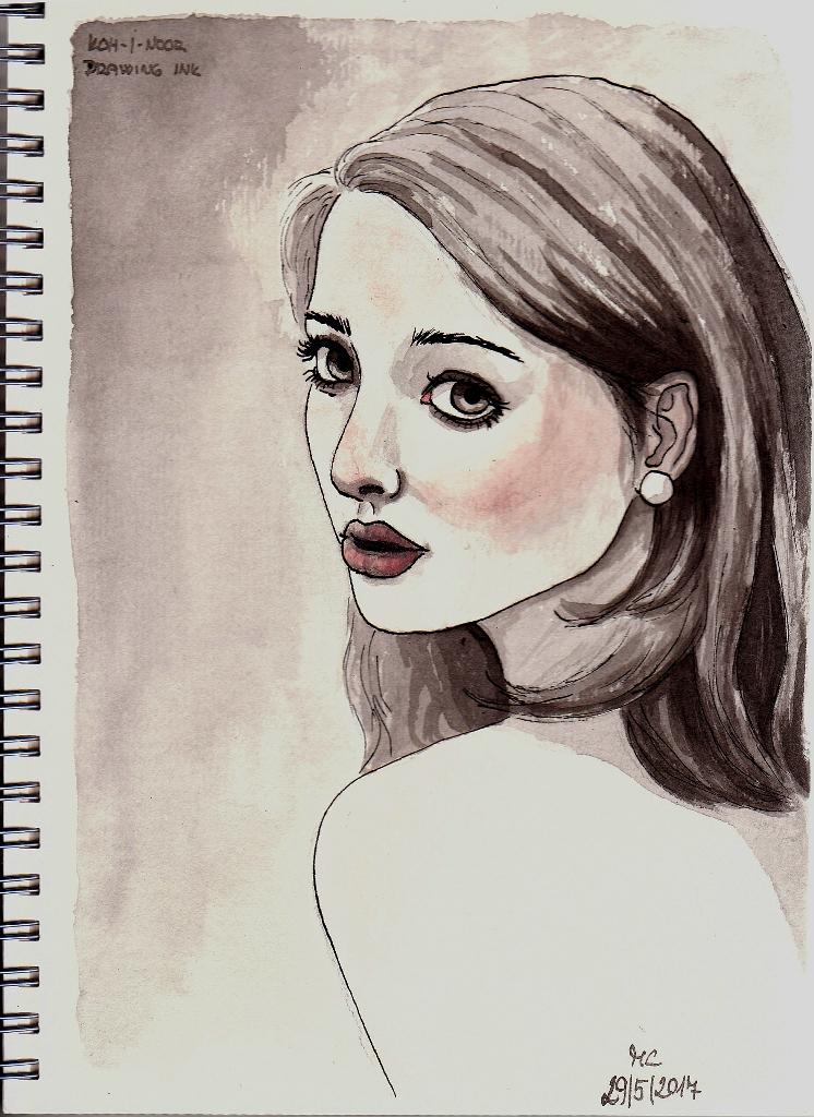 Ink sketch #2