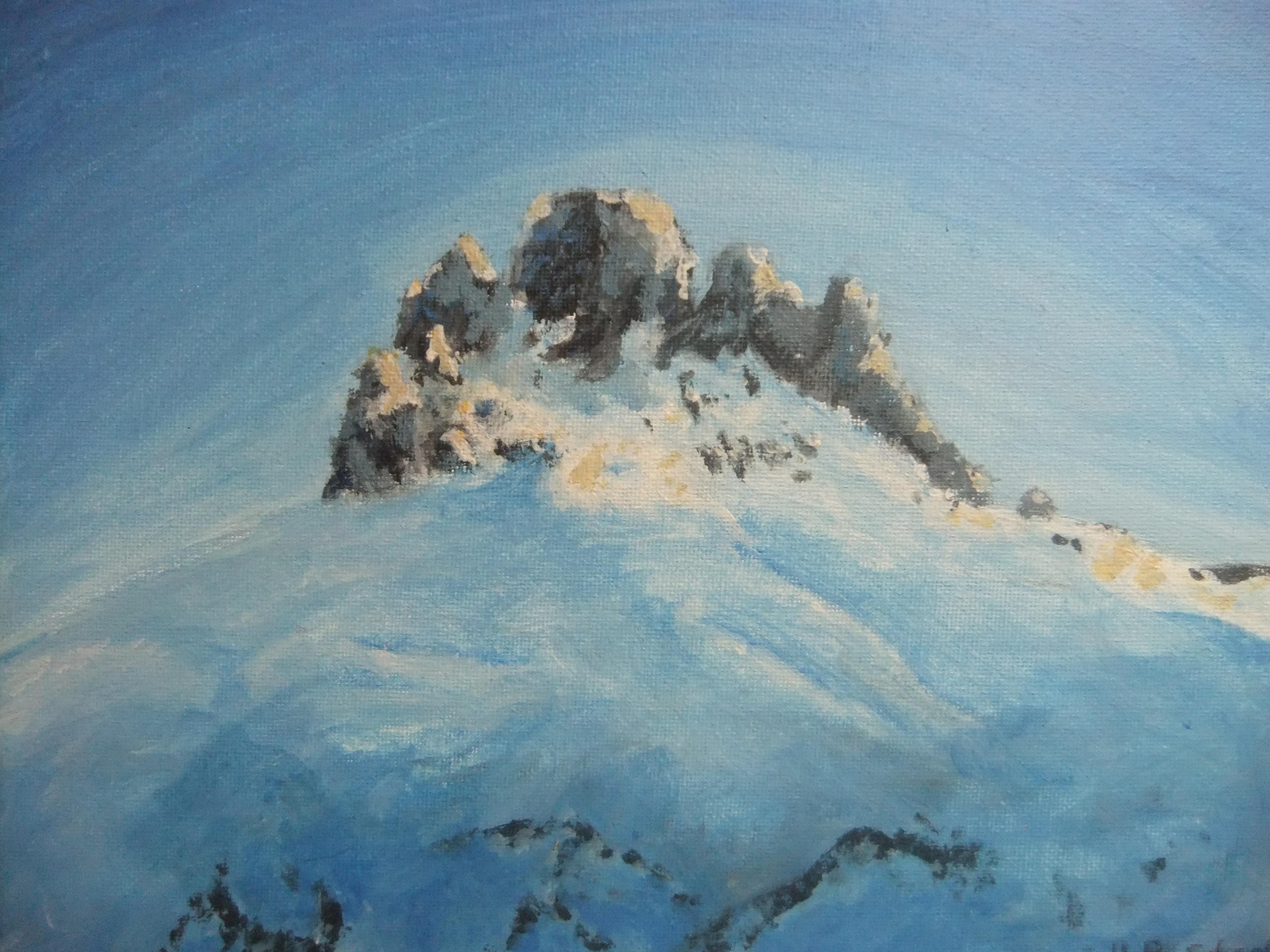 the Tschingellochtighorn - a beautiful mountain