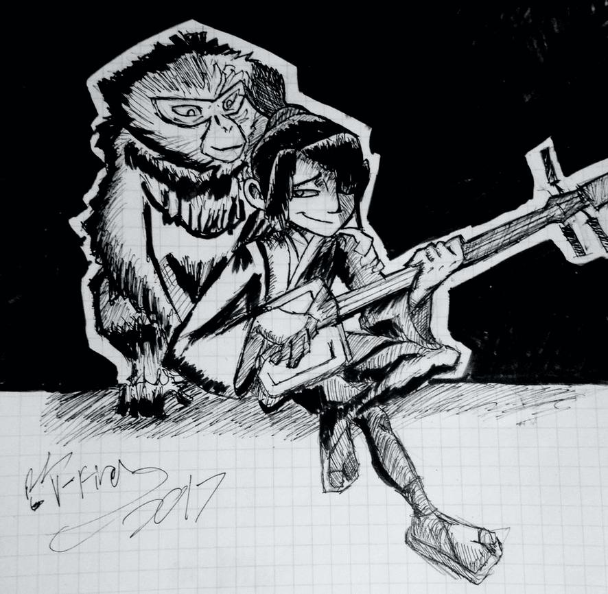 Kubo and Monkey