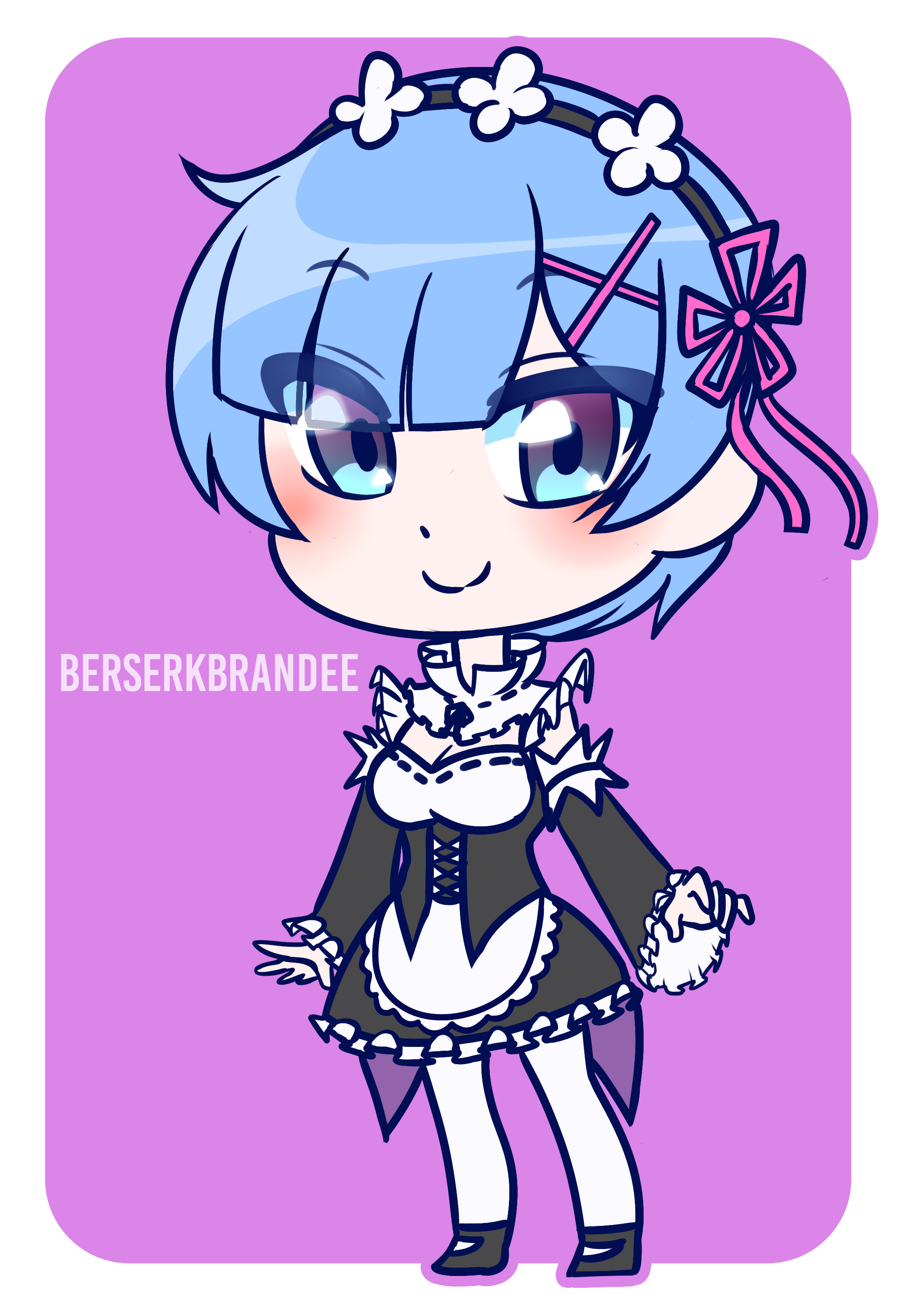 Rem Chibi Commission