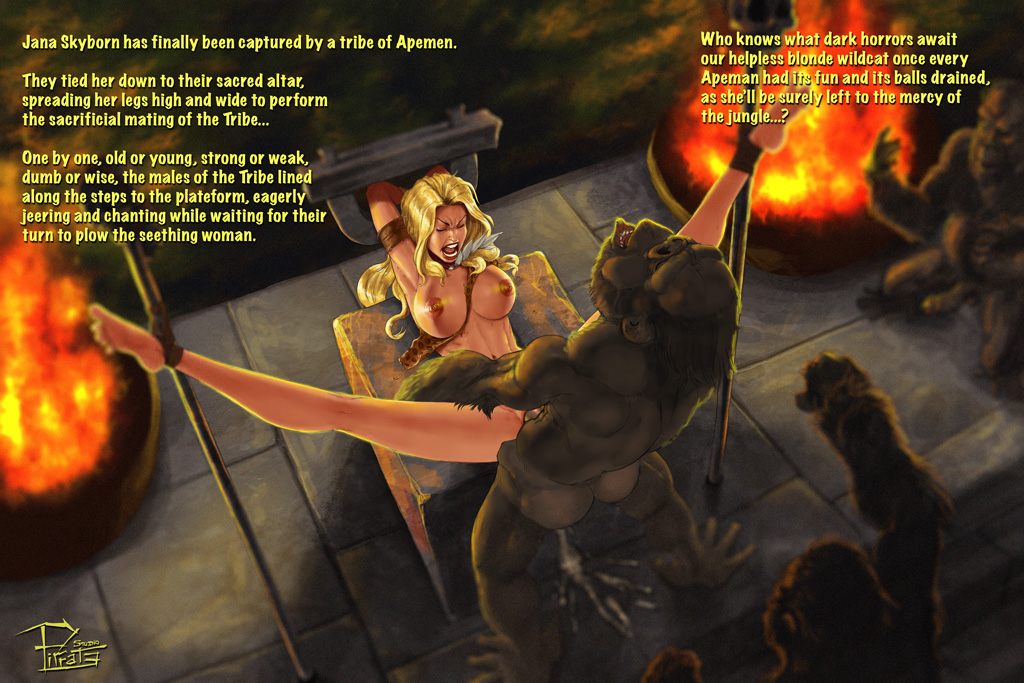 Jana Skyborn mating with the Tribe - Patreon