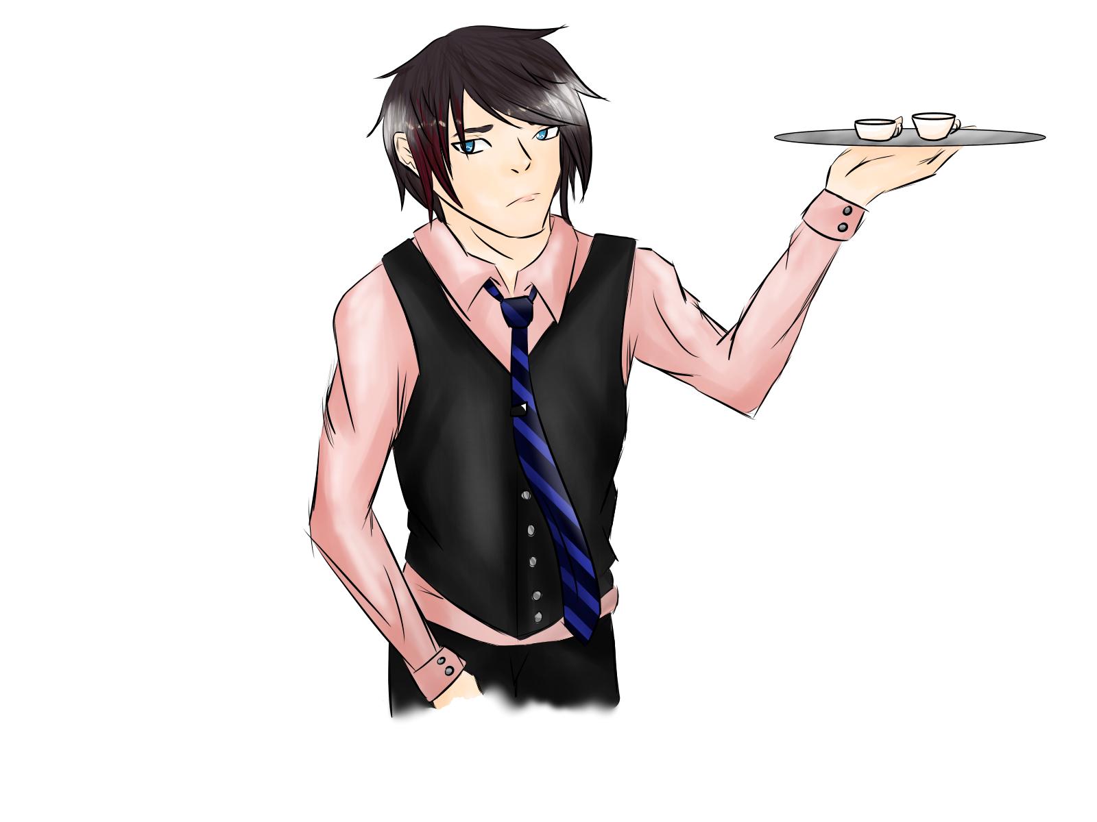 waiter guy