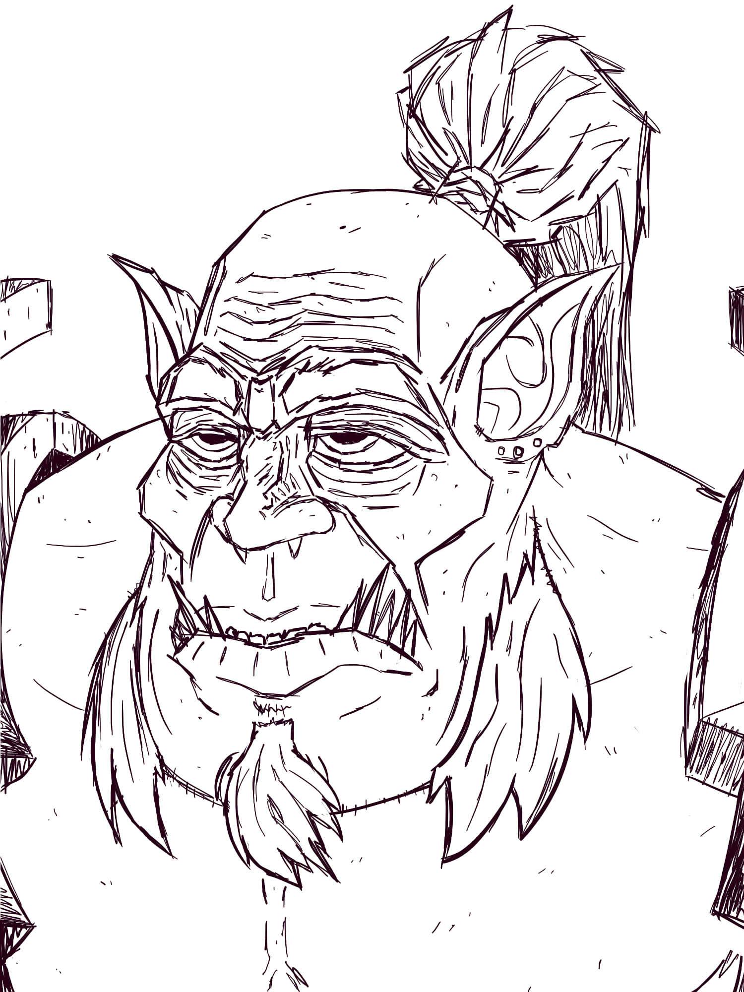 Mag'har Orc - Warcraft