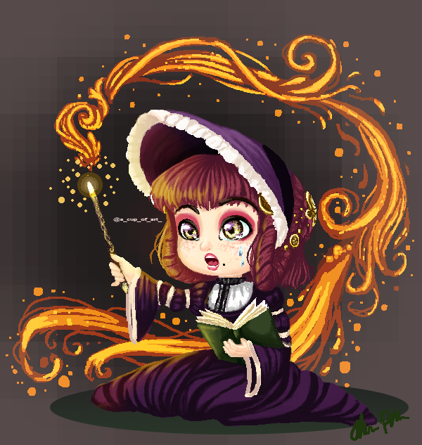 Little pixel witch - training magic