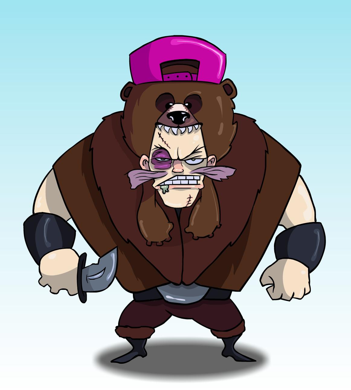 Rude Bear Pelt