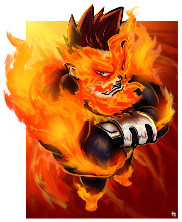 Endeavor - BnHA Action Shot