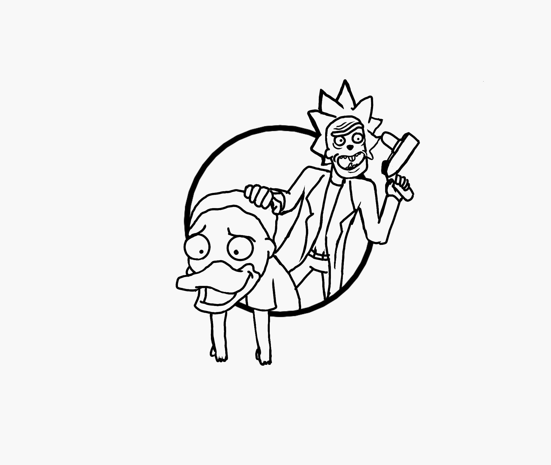draft midway rick and morty cotm