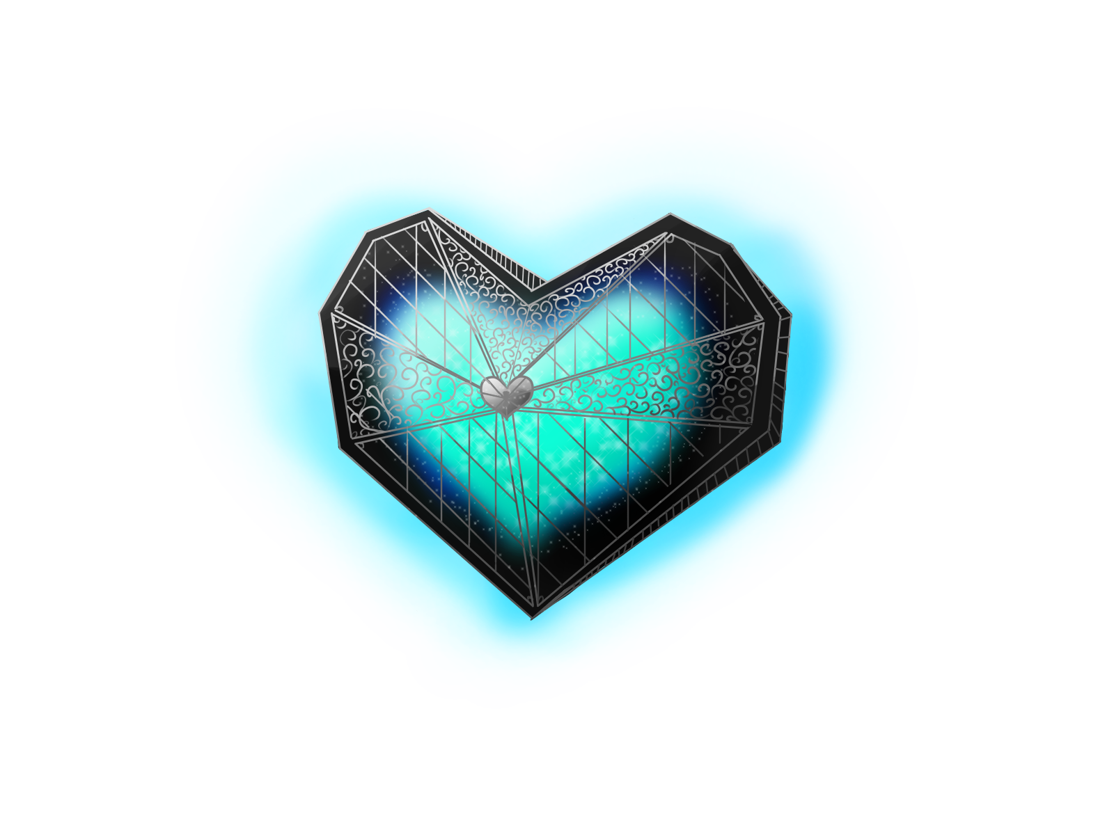 encased heart