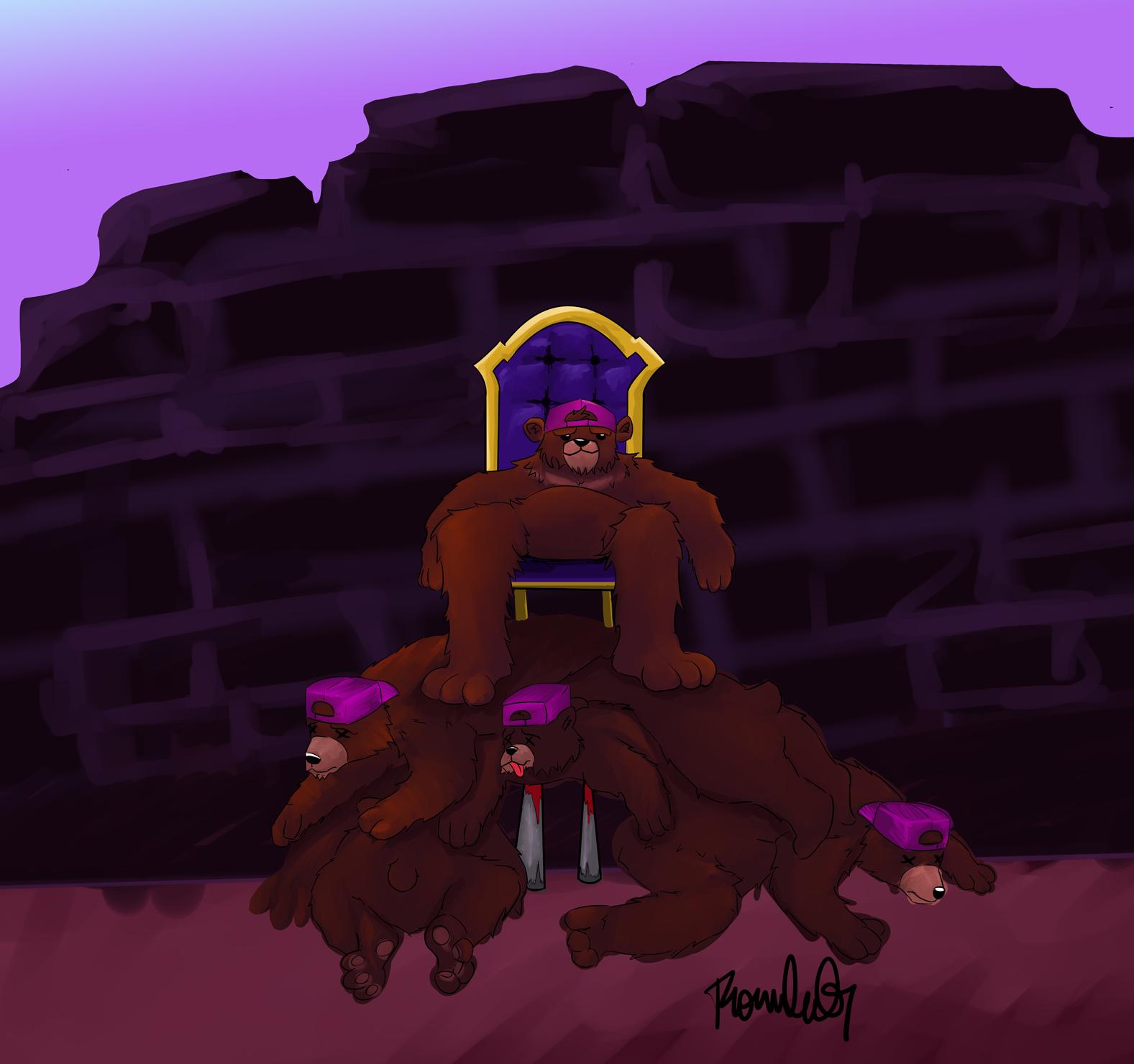 The King Survivor Rude Bear