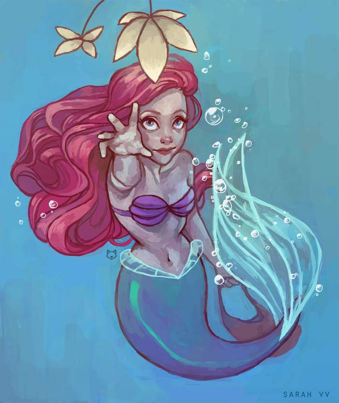 The Little Mermaid - Collecting