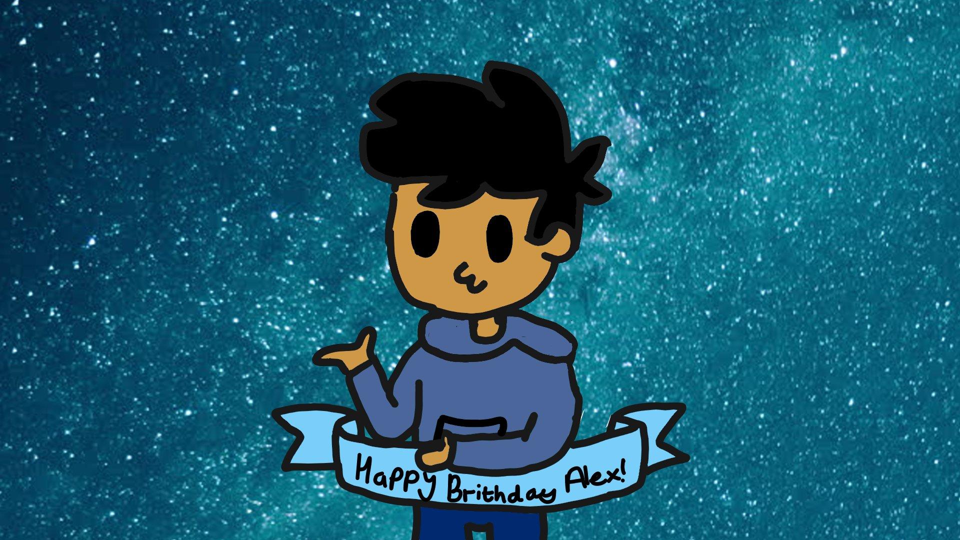 Birthday fan art (old) for Alex Animations