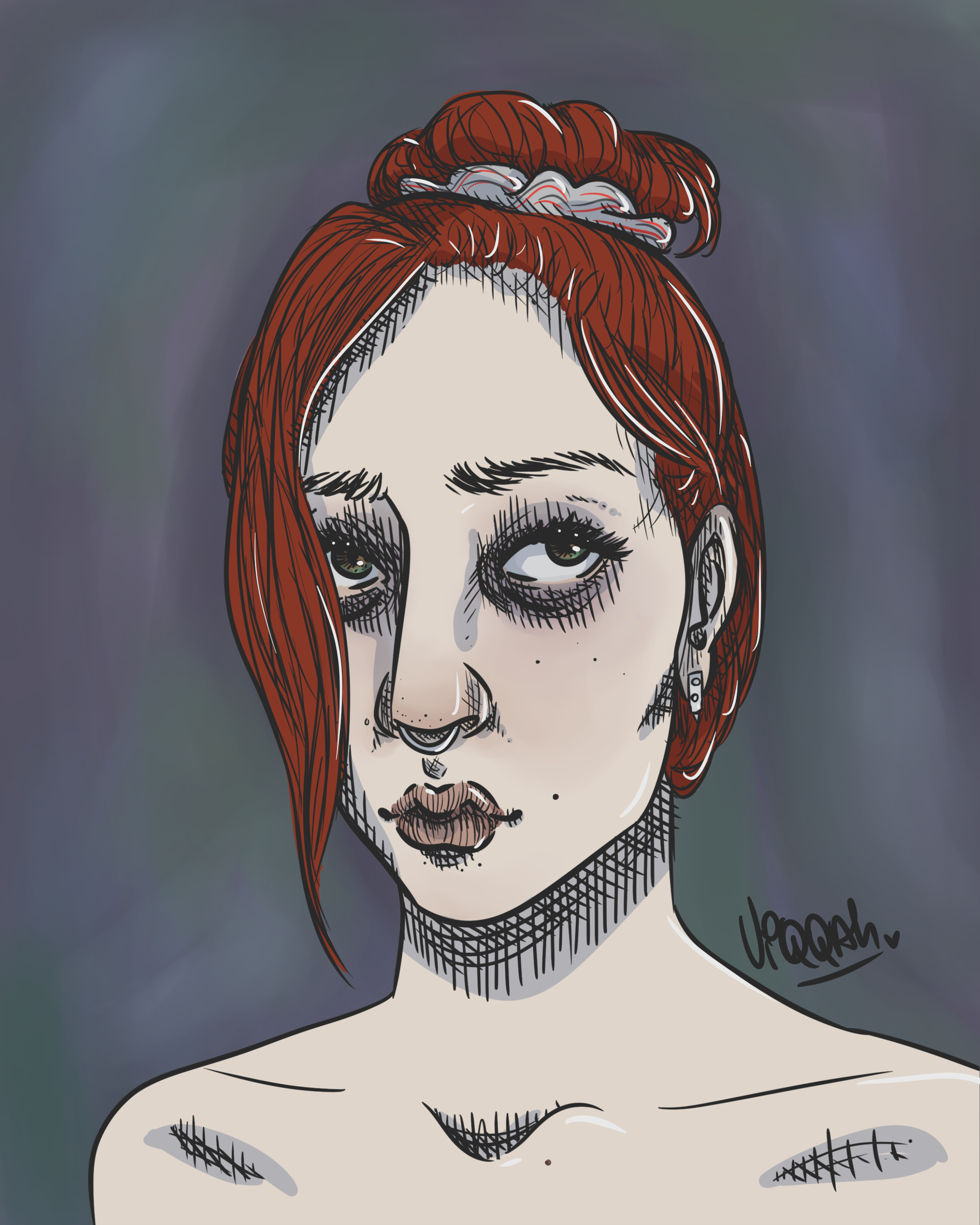 (yet another) self-portrait