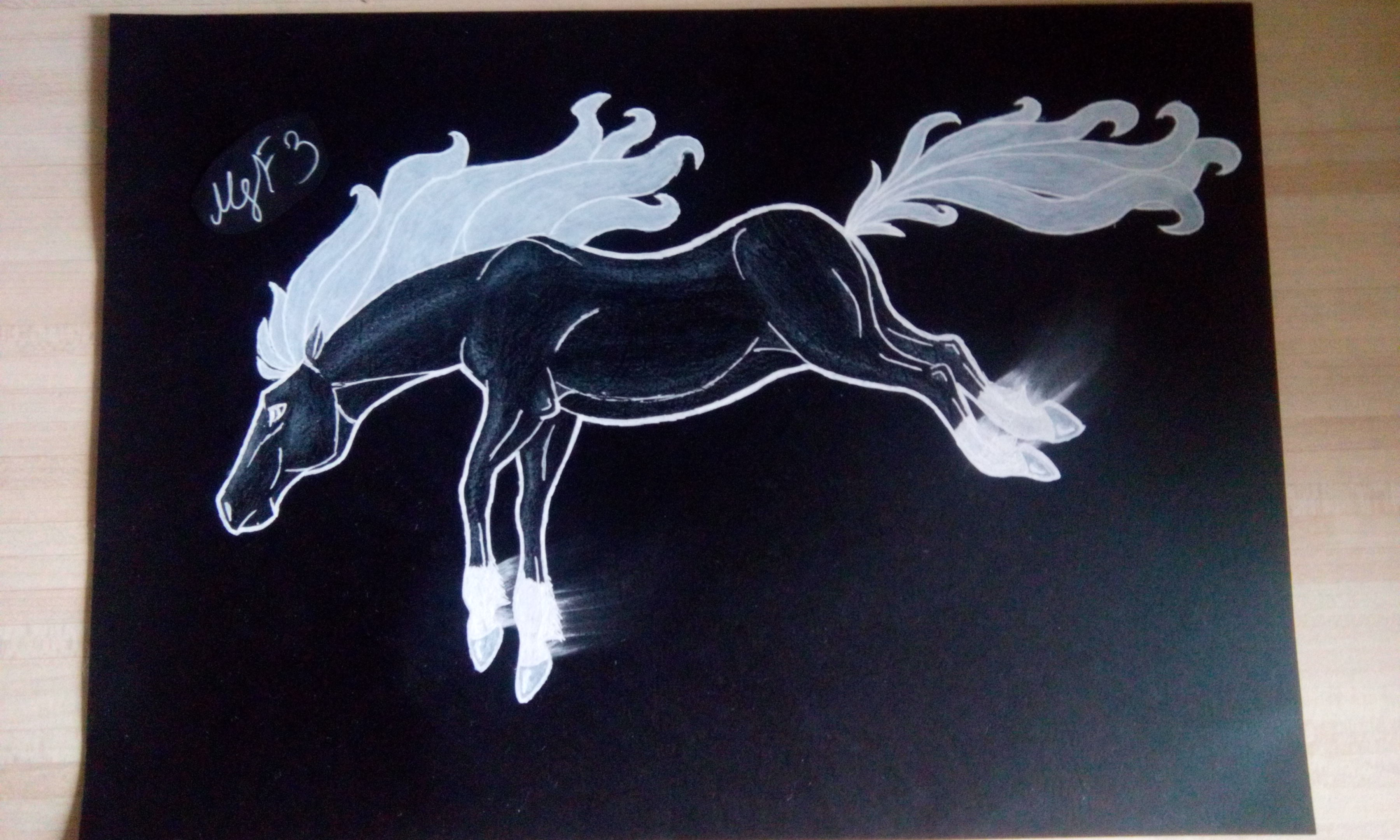 Black Horse - Finished