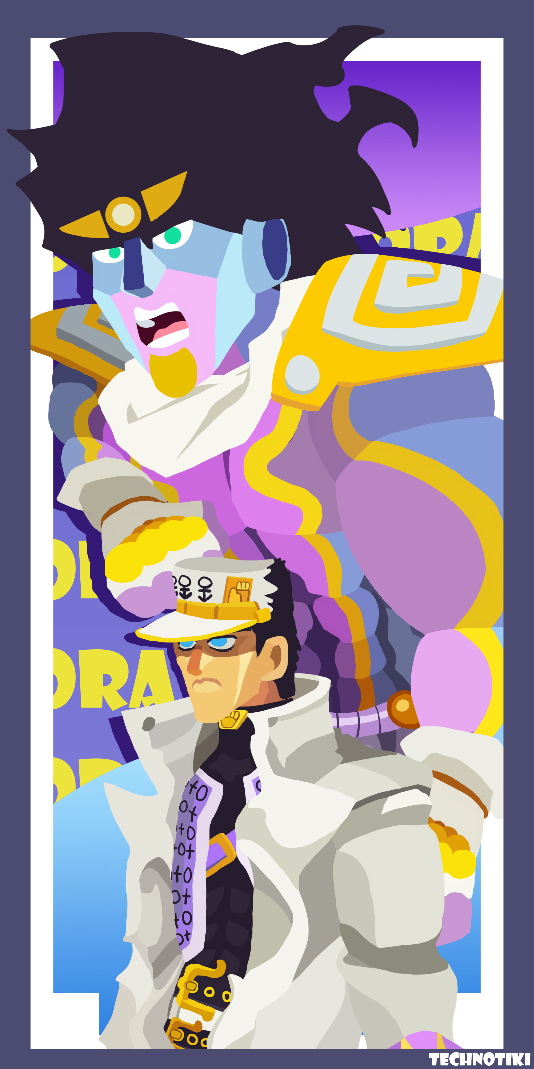 Jotaro and Splat