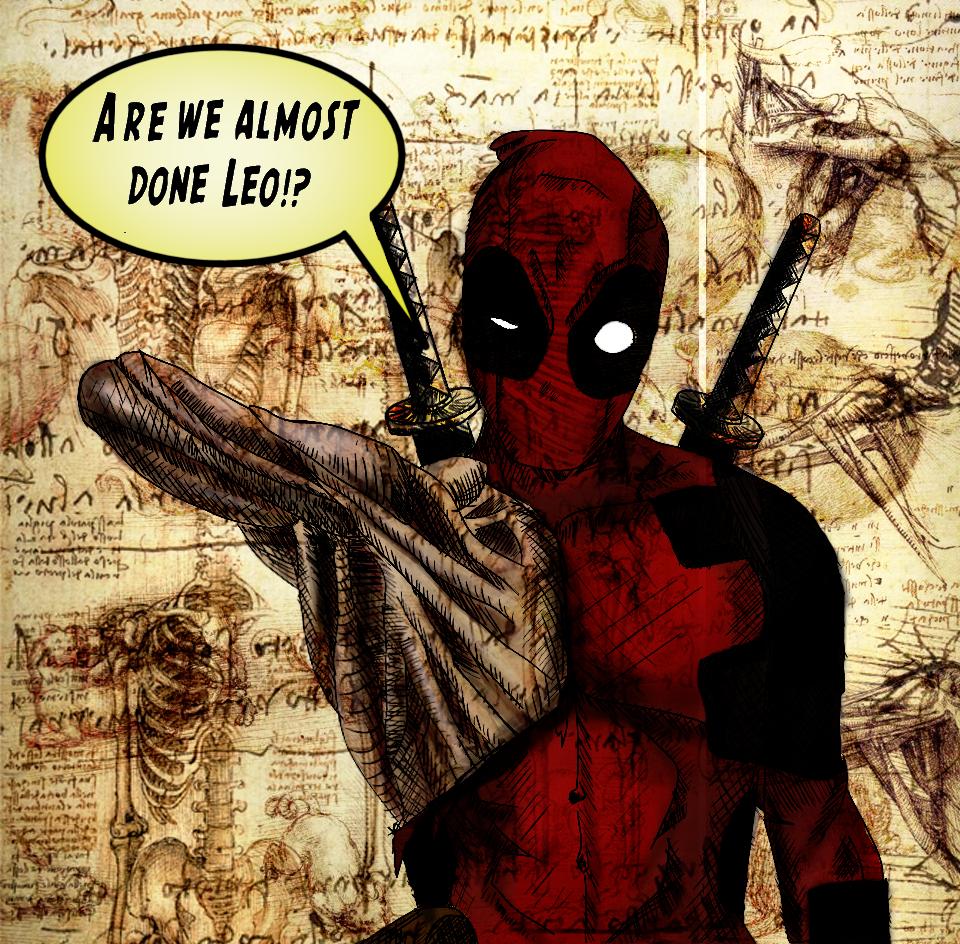 Deadpool meets Da Vinci