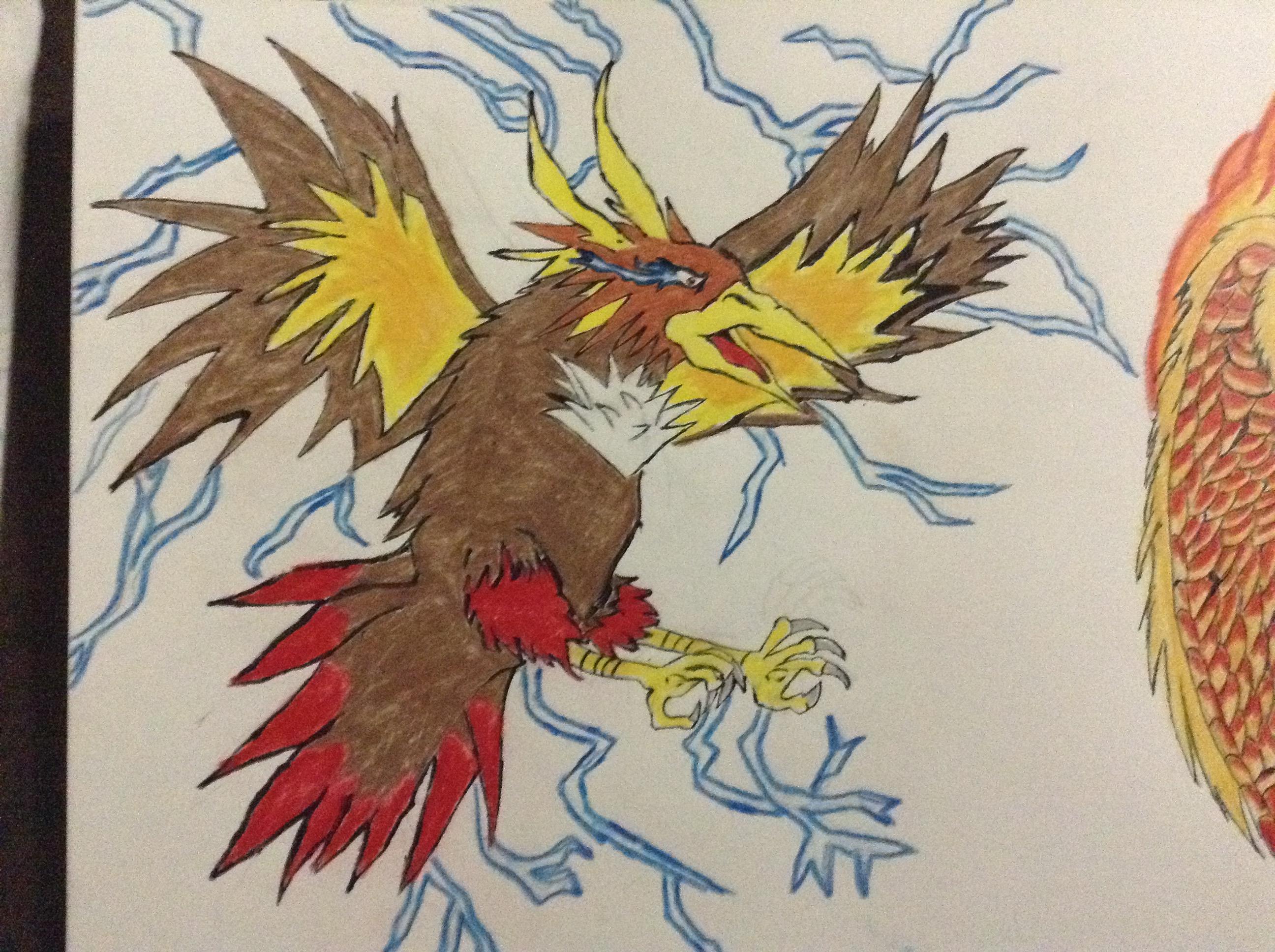 legendary bird close up #3