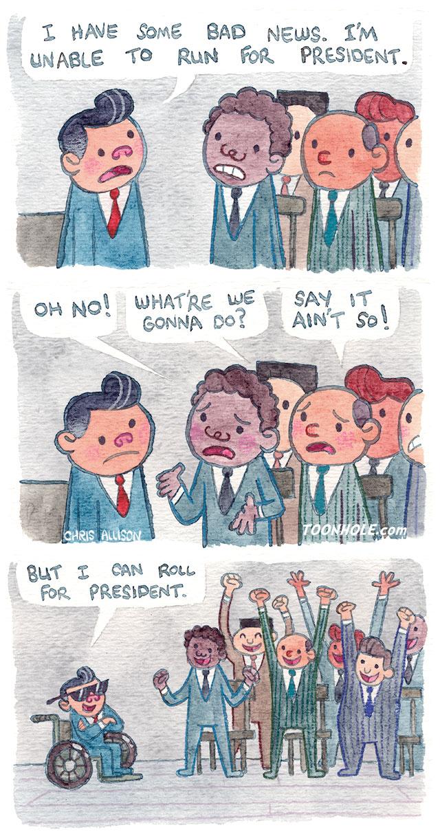 Run for President