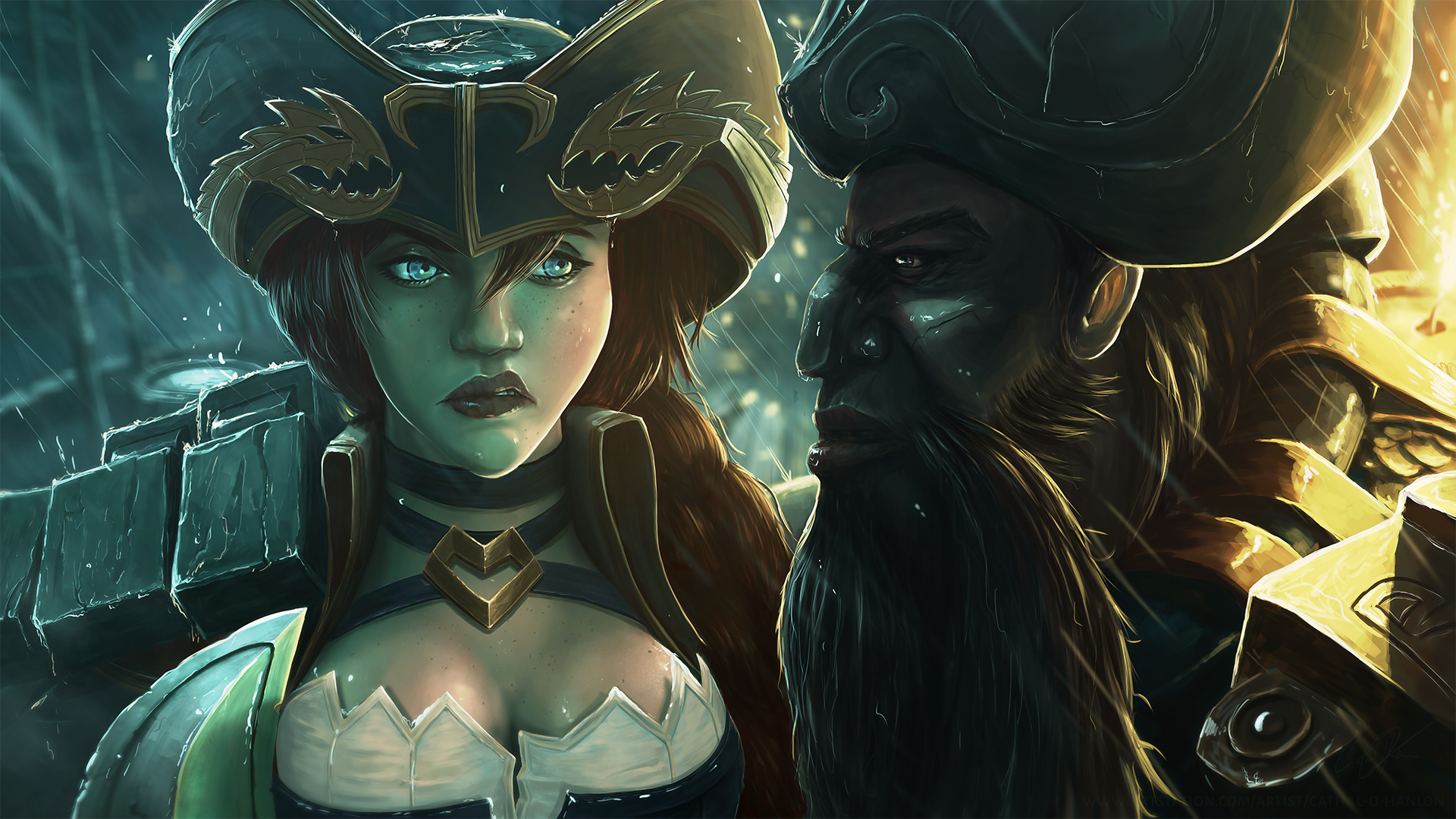 Miss Fortune And Gangplank
