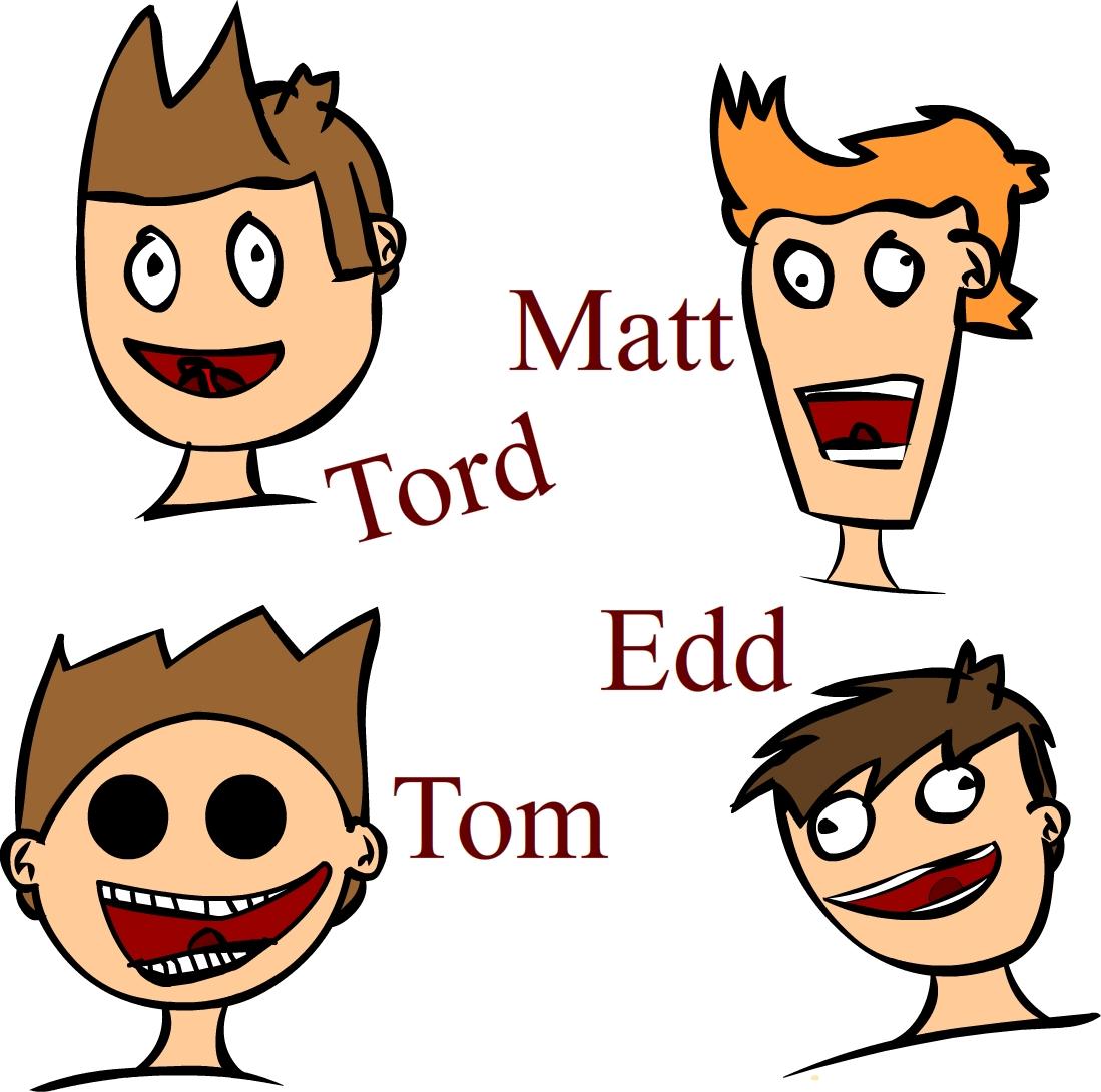 Eddsworld MainCharacters By Me