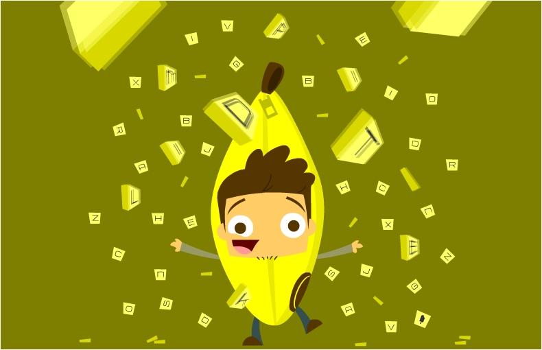 bananagram man!