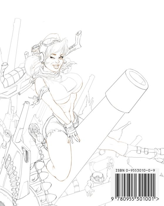 Tankgirl (Line Art)