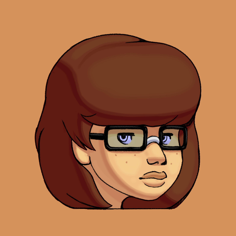 Velma Face Icon