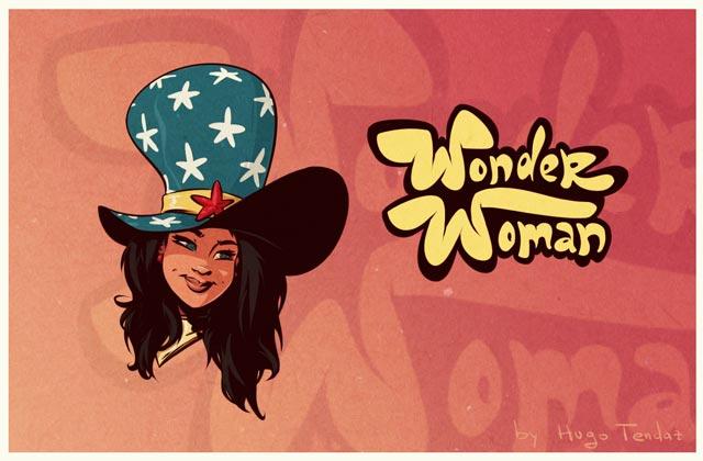 Wonder Woman Over Yonder?