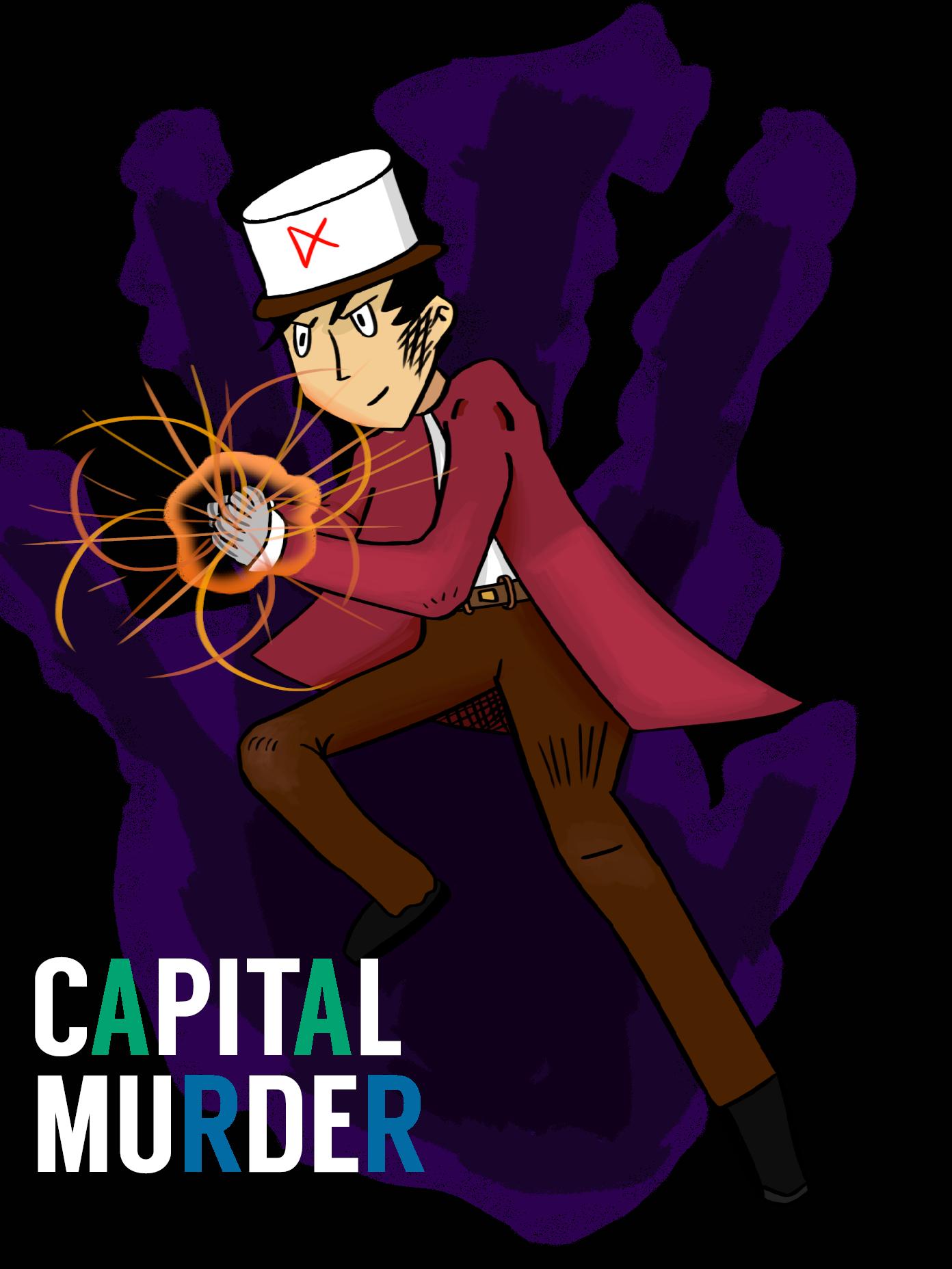 Capital Murder Cover