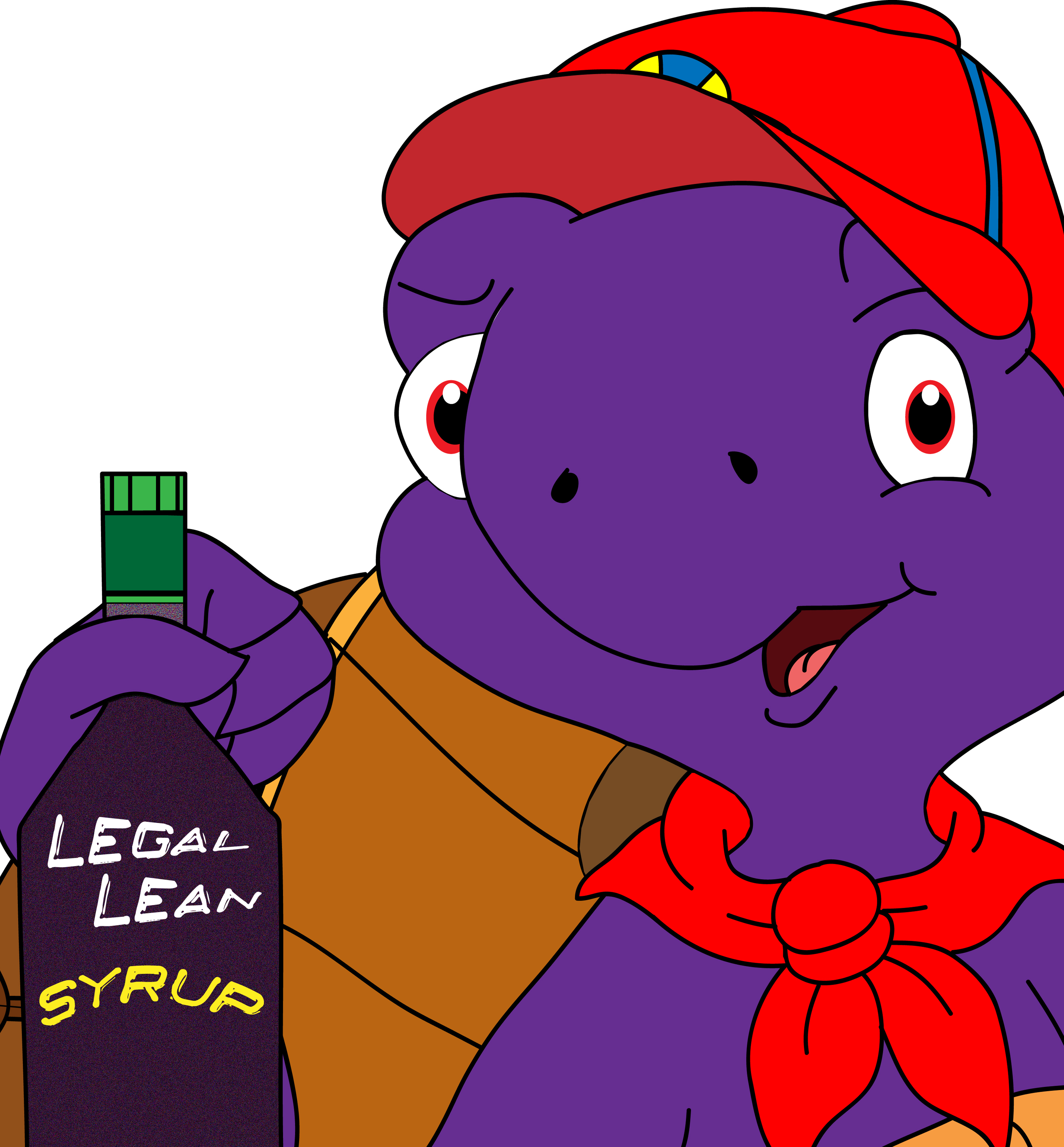 Franklin the Purple Turtle... With LEAN!