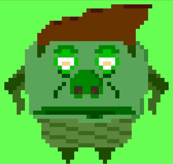 A Really Ugly Thing (Pixel Art)