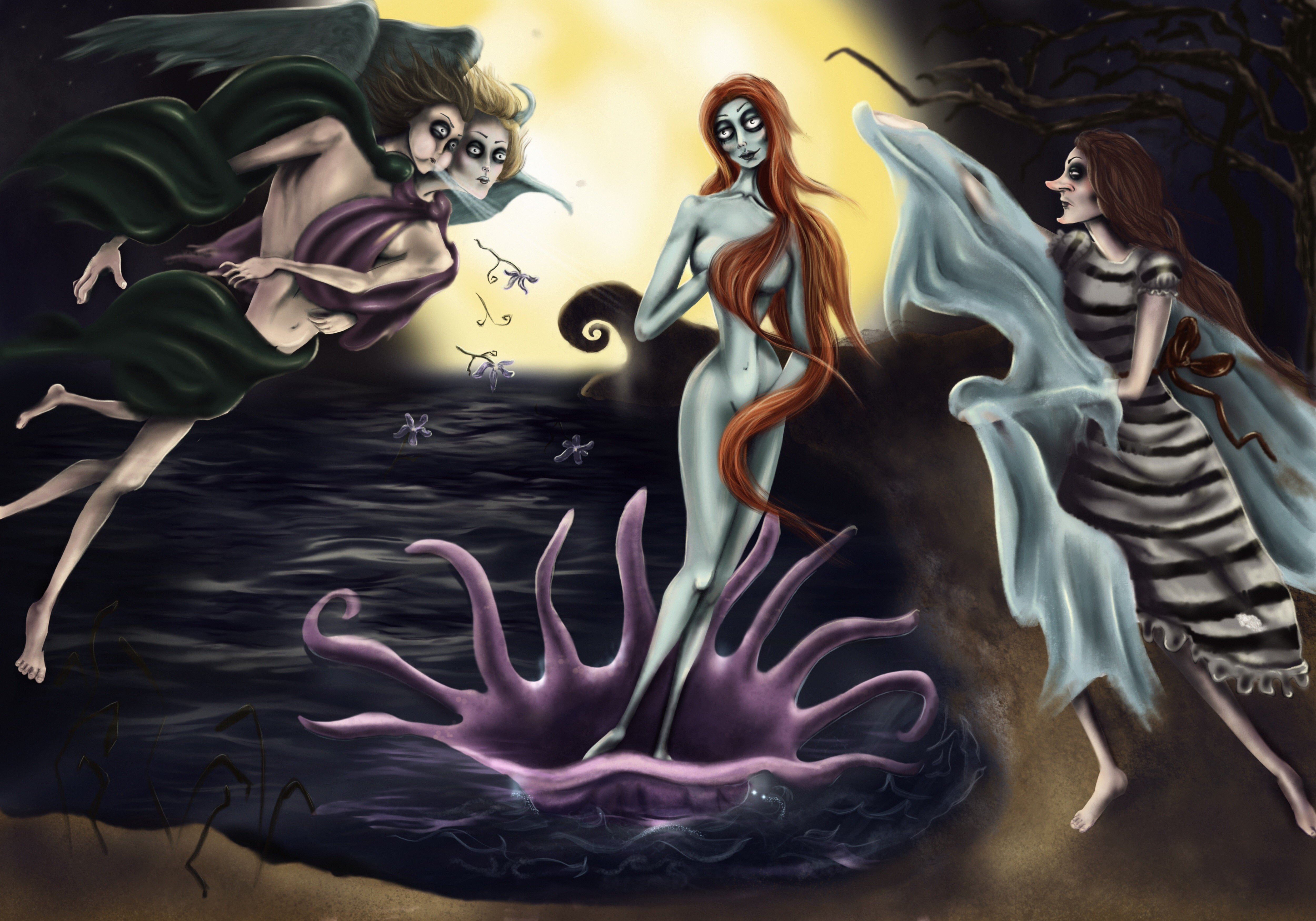 The birth of Venus sister
