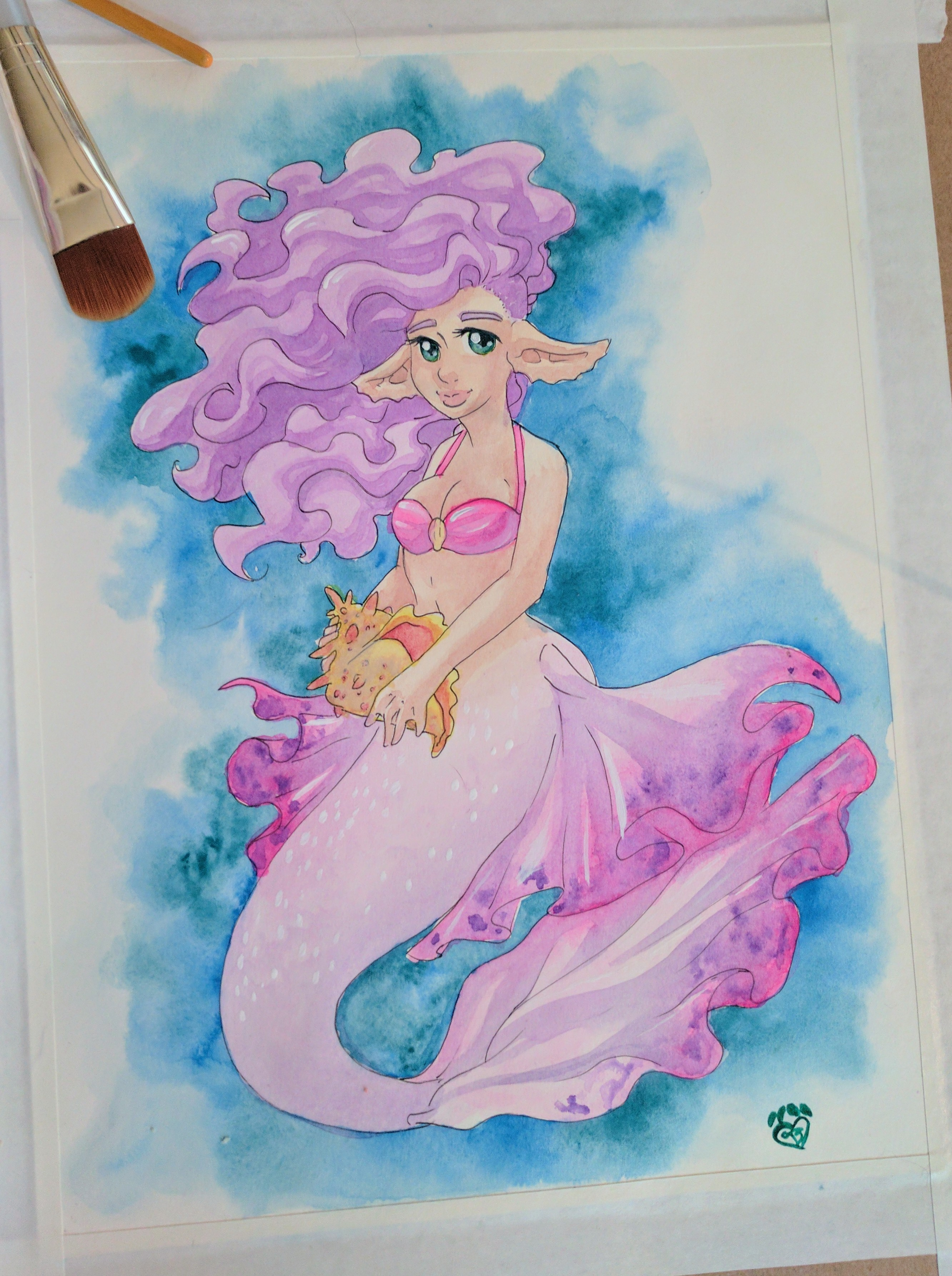 Cotton Candy Mermaid
