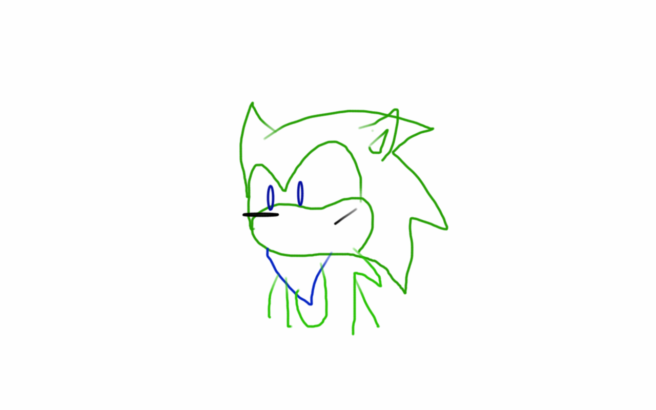 Shader the Hedgehog (My Fan Character/OC)