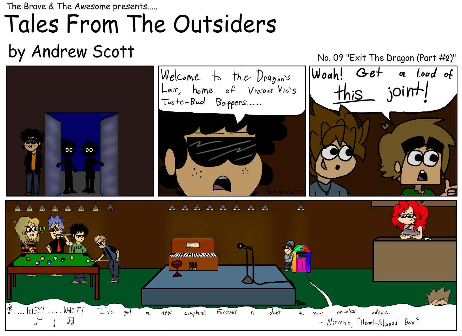 Tales From The Outsiders #09