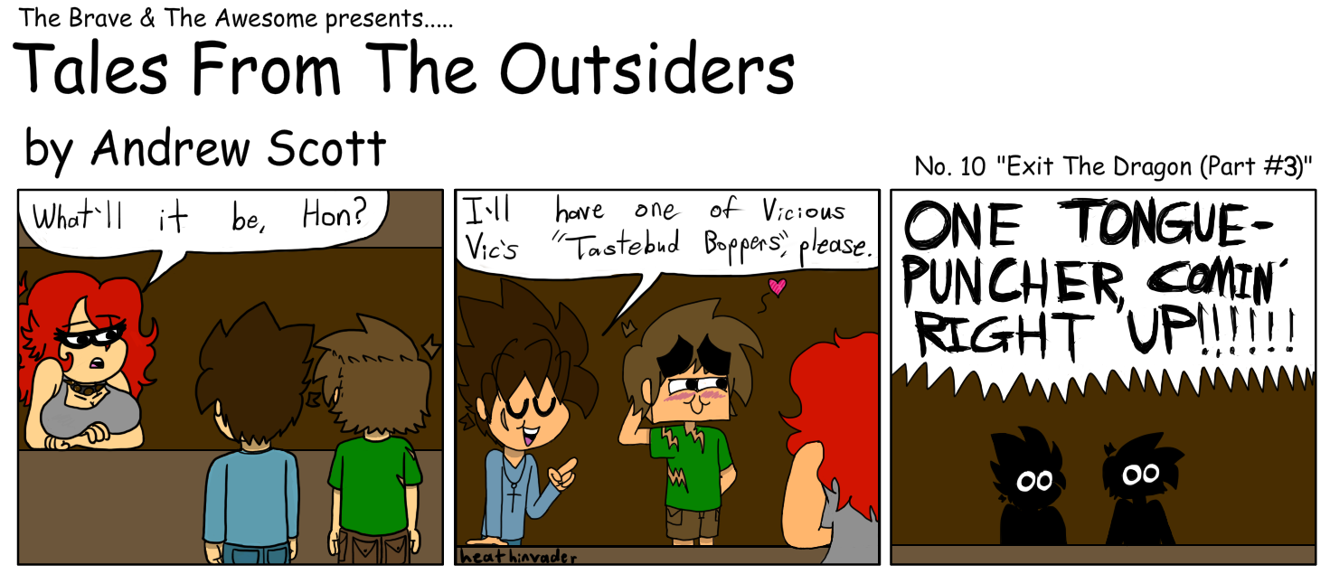 Tales From The Outsiders #10